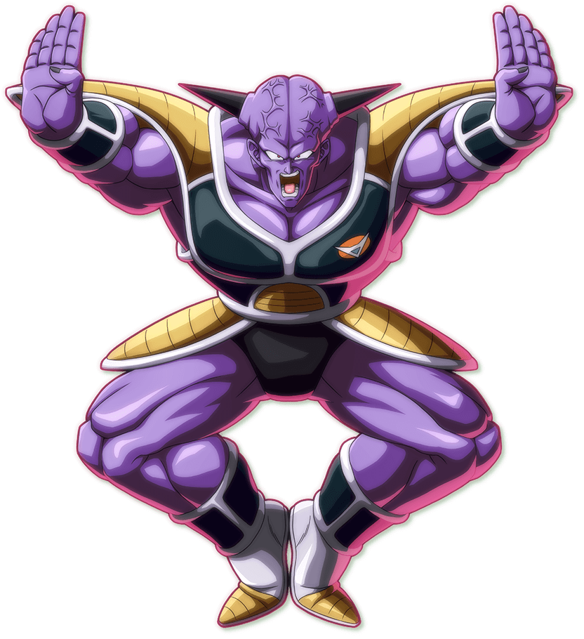 Captain Ginyu PNG Render (Dragon Ball FighterZ)