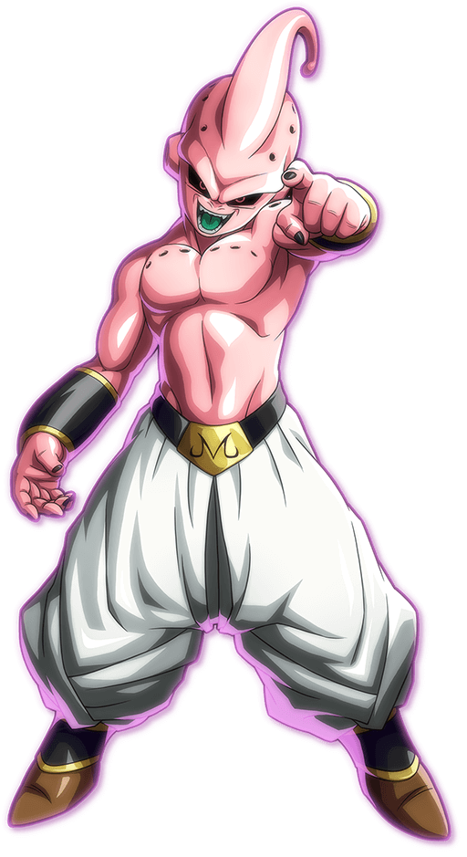 Kid Buu PNG Render (Dragon Ball FighterZ)