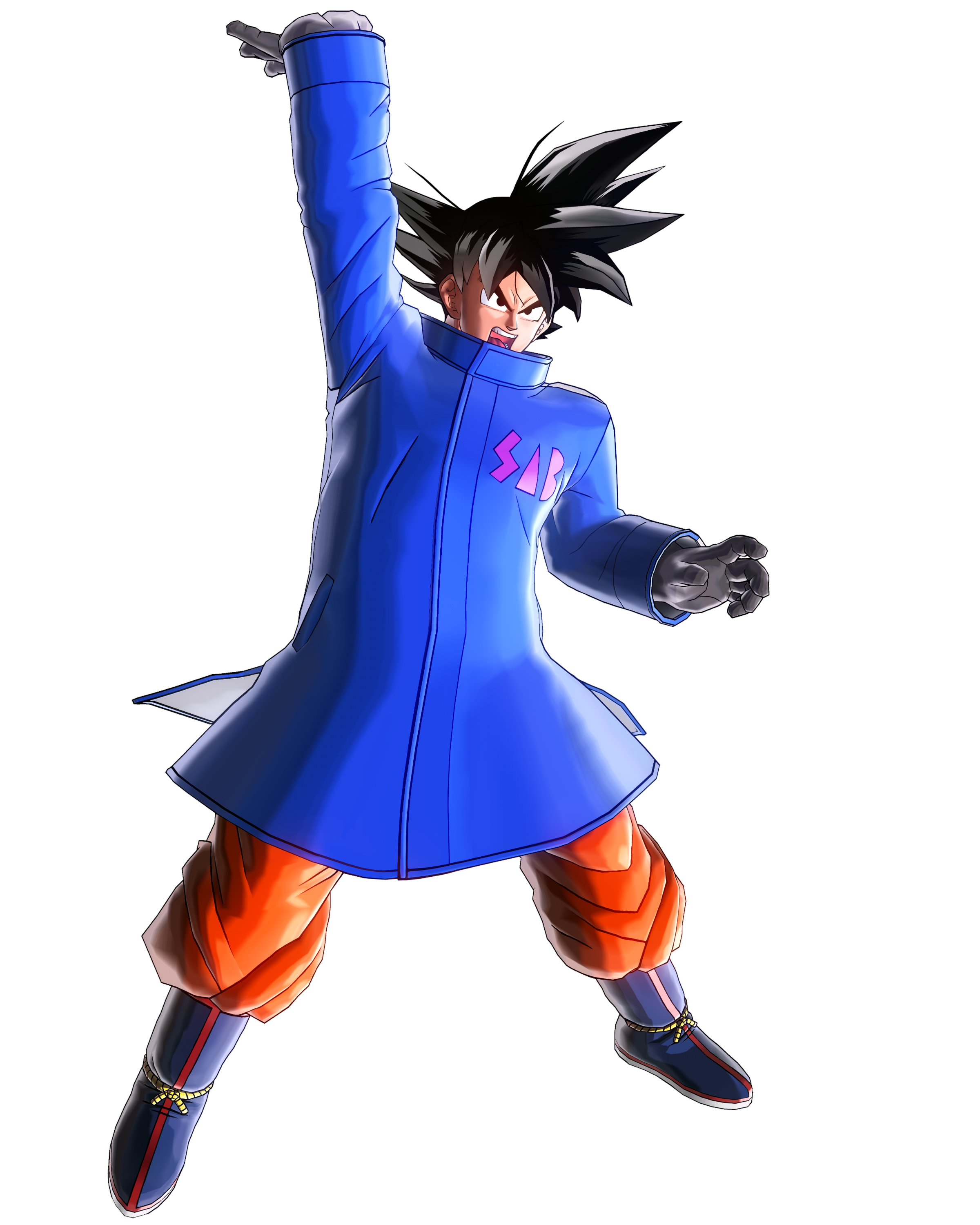 Goku Snow Suit Render (Dragon Ball Xenoverse 2).png