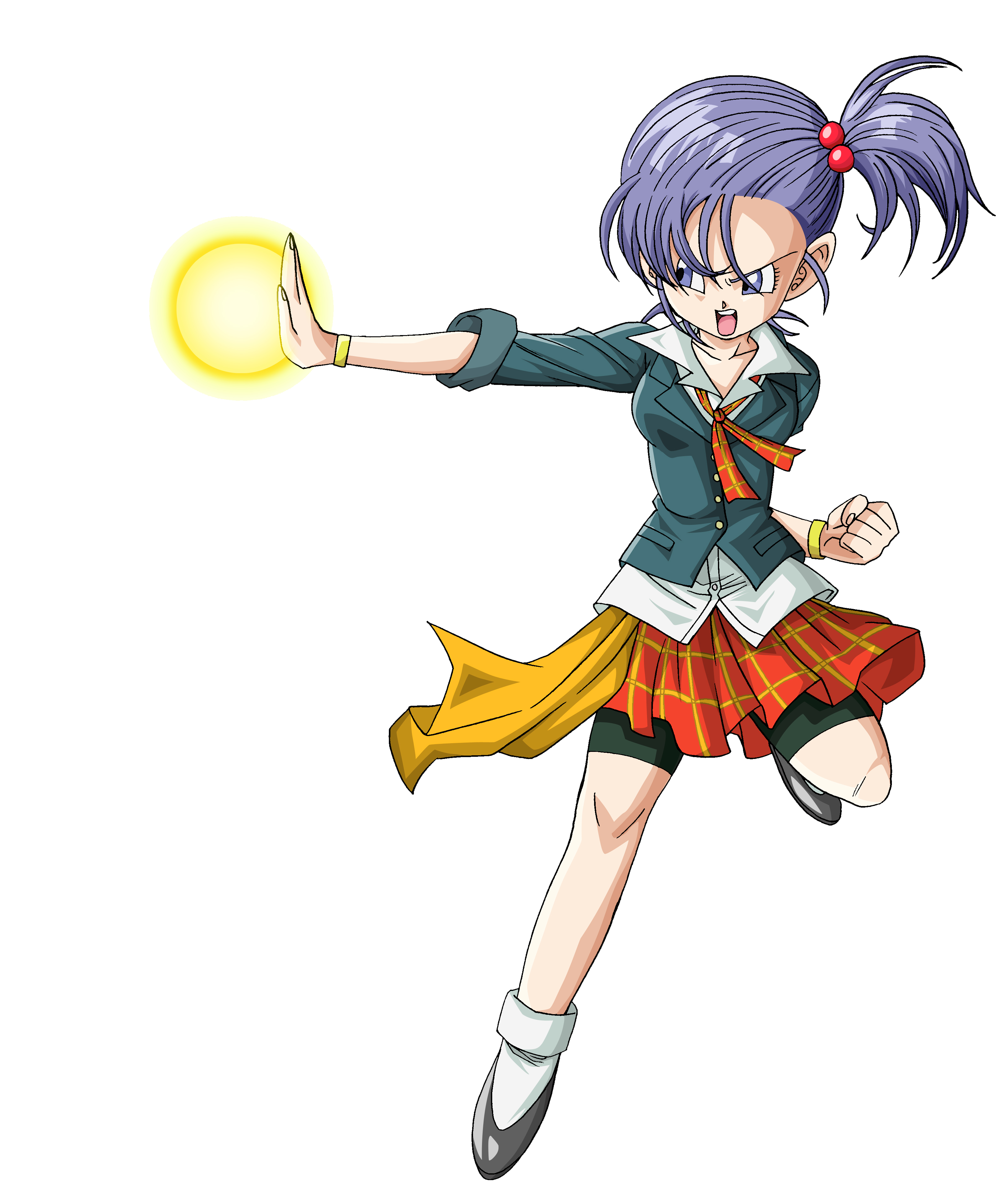 Human Female Warrior PNG Render (Dragon Ball Xenoverse).png