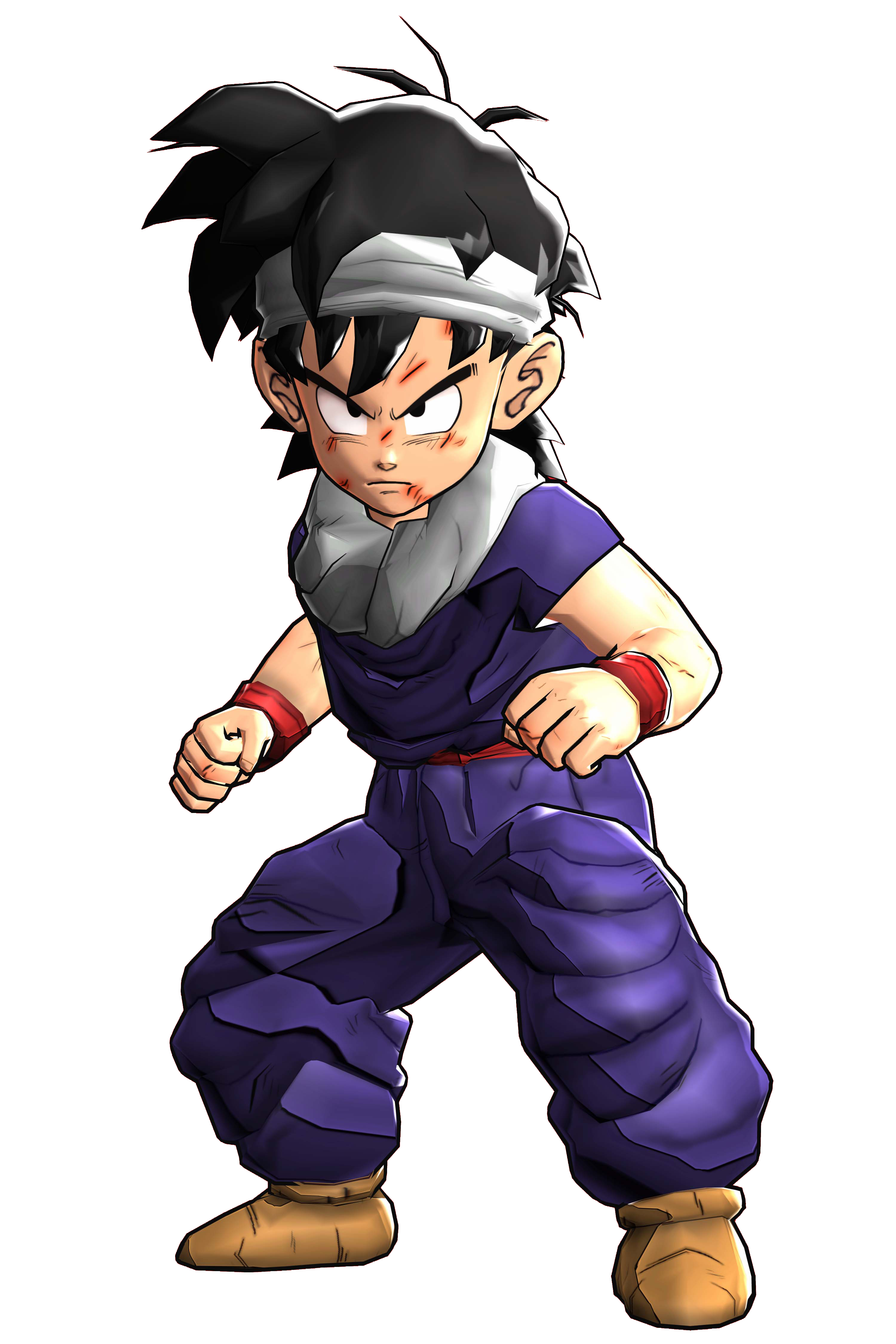 Kid Gohan Render (Dragon Ball  Z Battle of Z).png