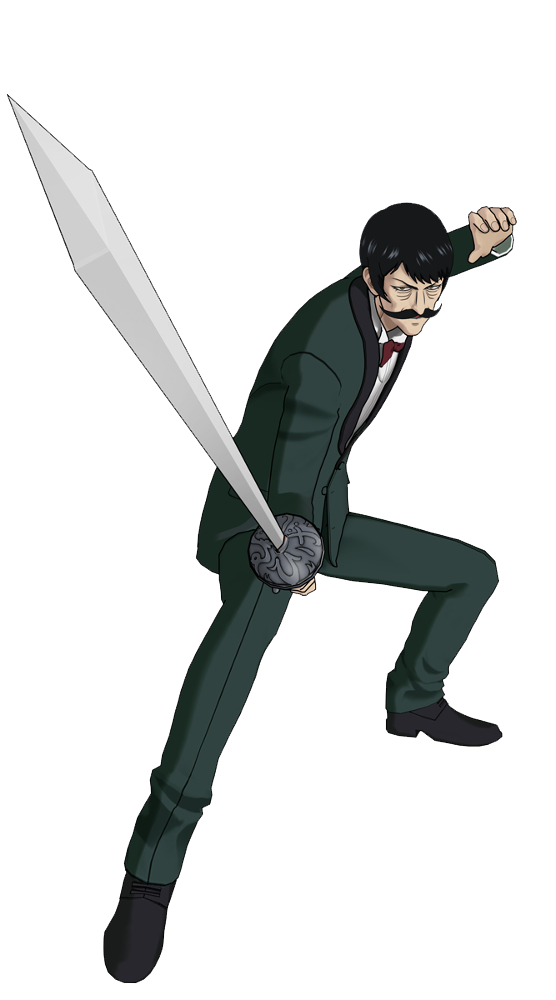 Spring Mustachio Render (One Punch Man A Hero Nobody Knows).png