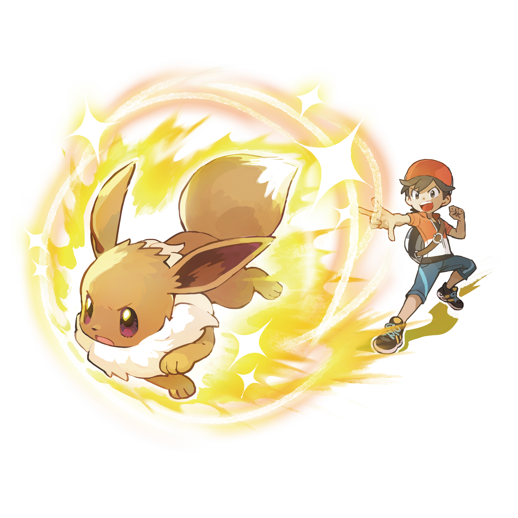 Boy Chase and Eevee Render (Pokemon Let's Go).png