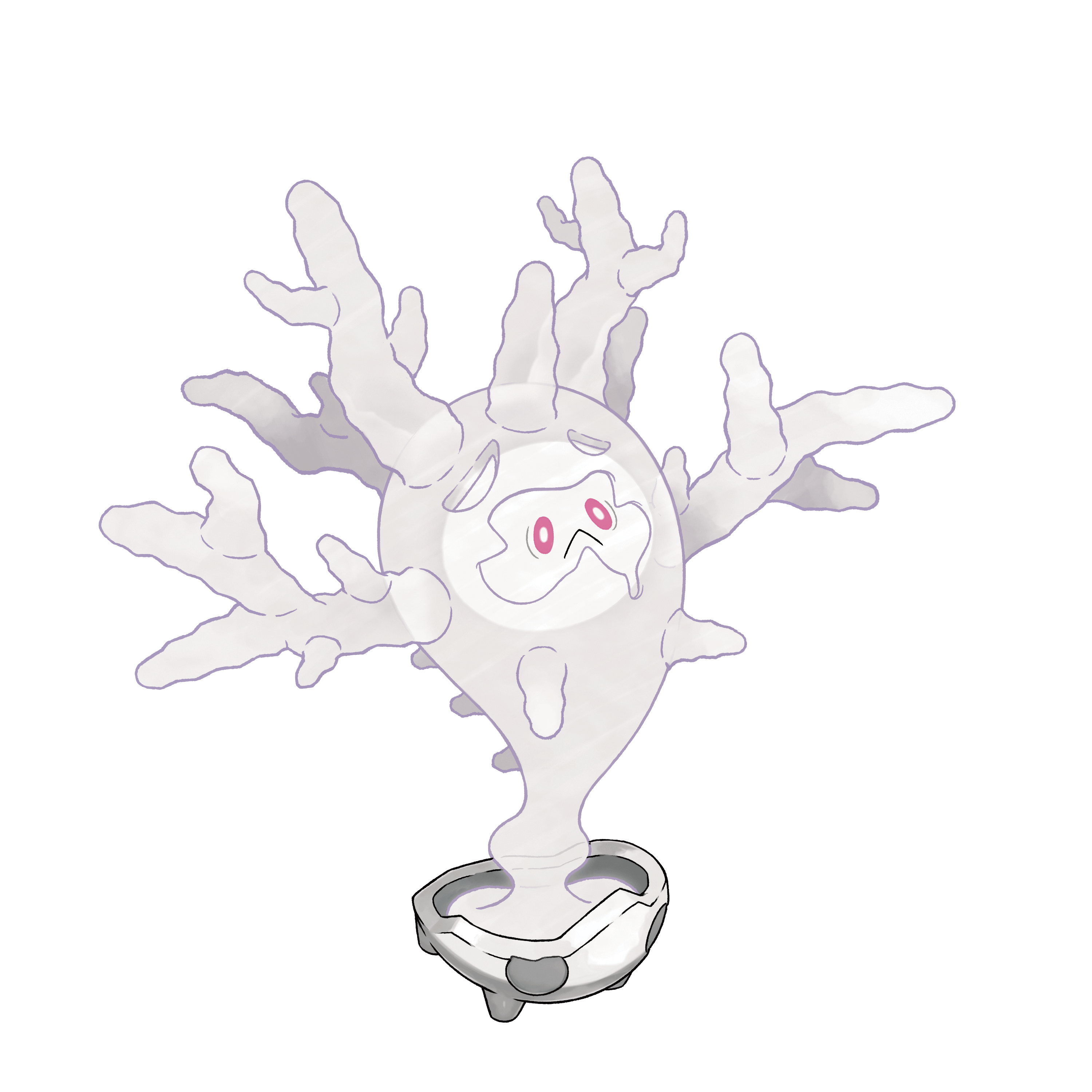Cursola PNG Render (Pokemon Sword and Shield)