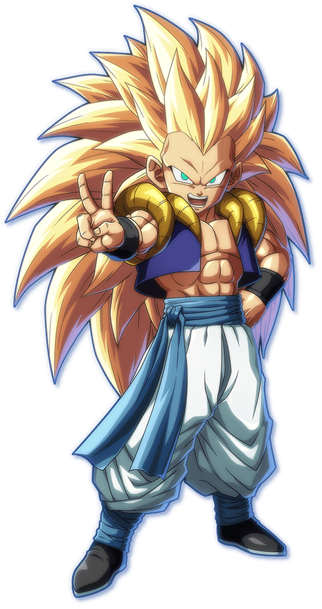 Gotenks PNG Render (Dragon Ball FighterZ).png