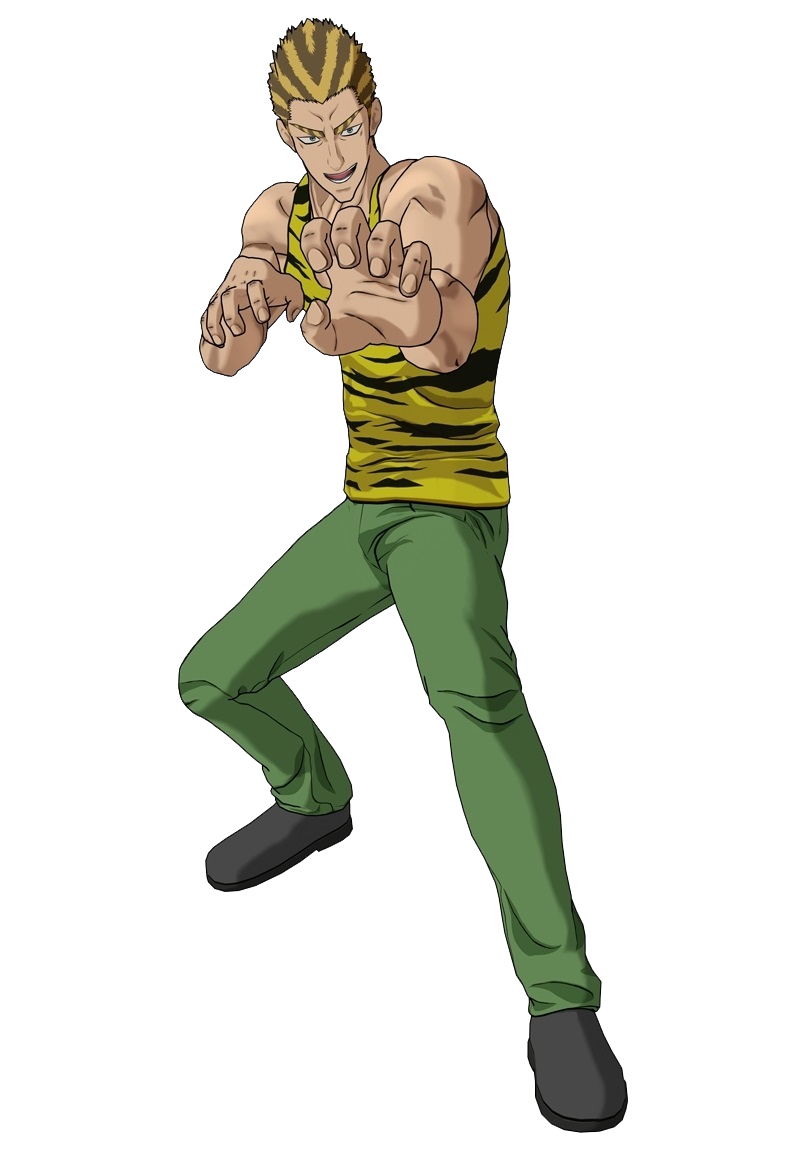 Tanktop Tiger Render (One Punch Man A Hero Nobody Knows).png