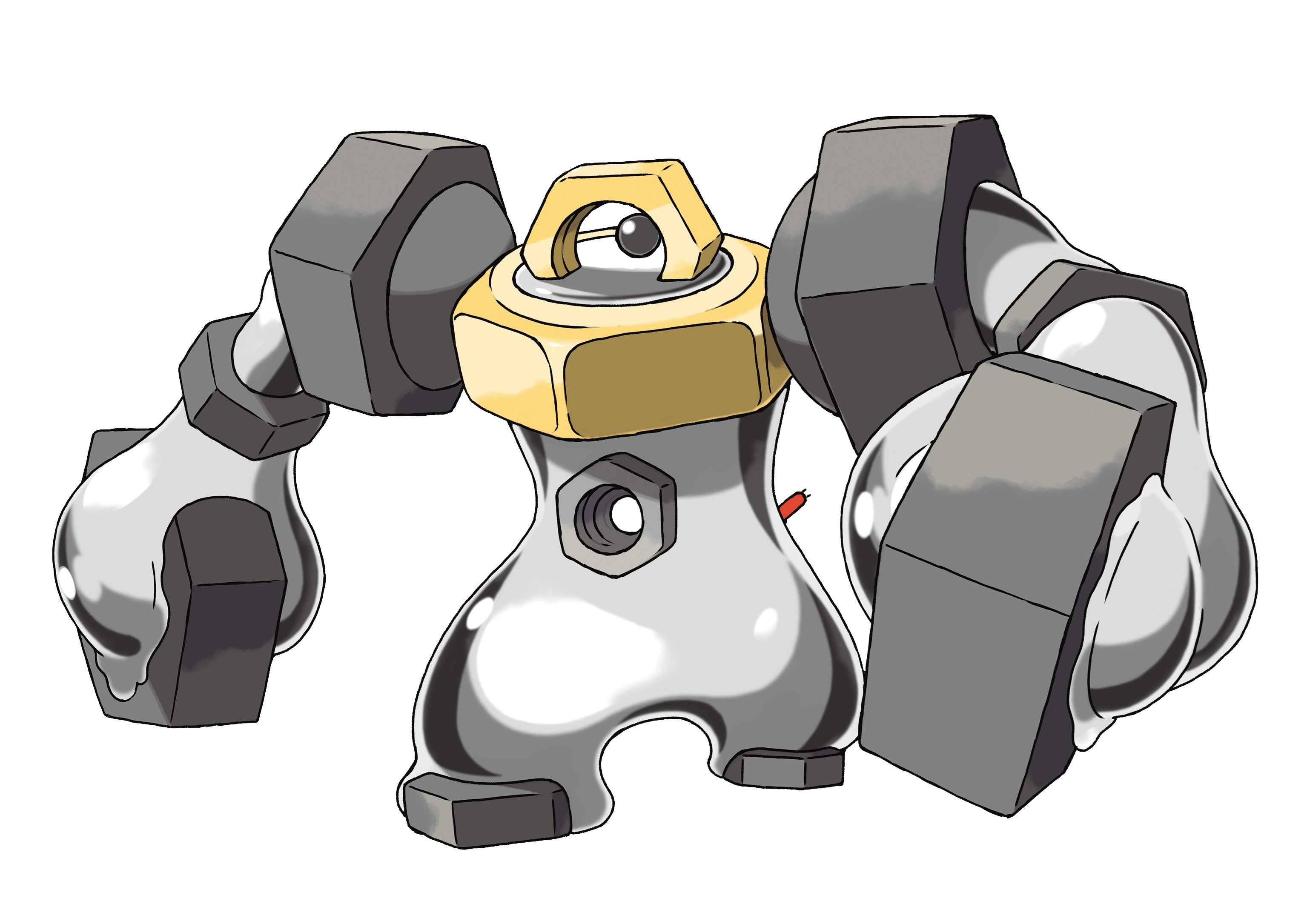 Melmetal Render (Pokemon Let's Go).png