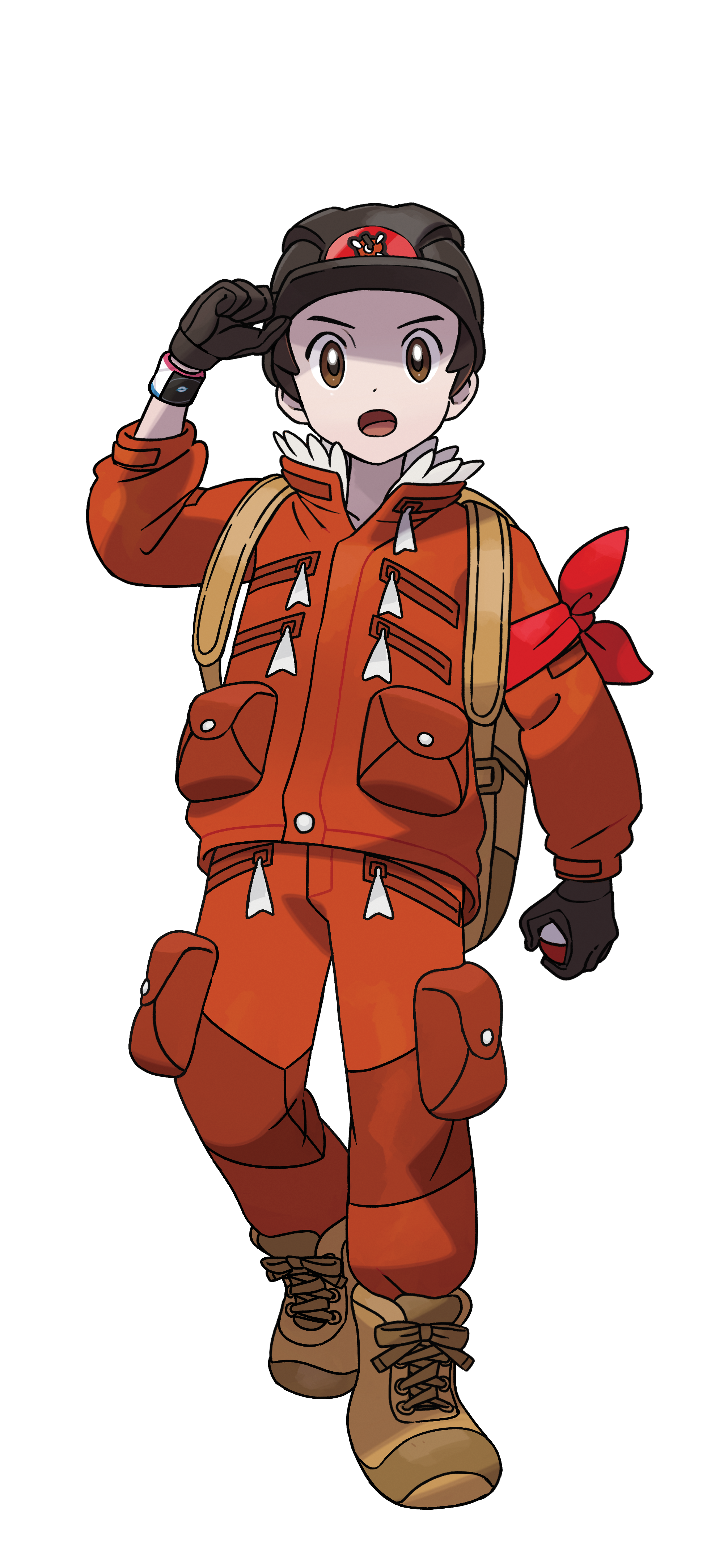 The Crown Tundra Boy Victor Render (Pokemon Sword and Shield).png