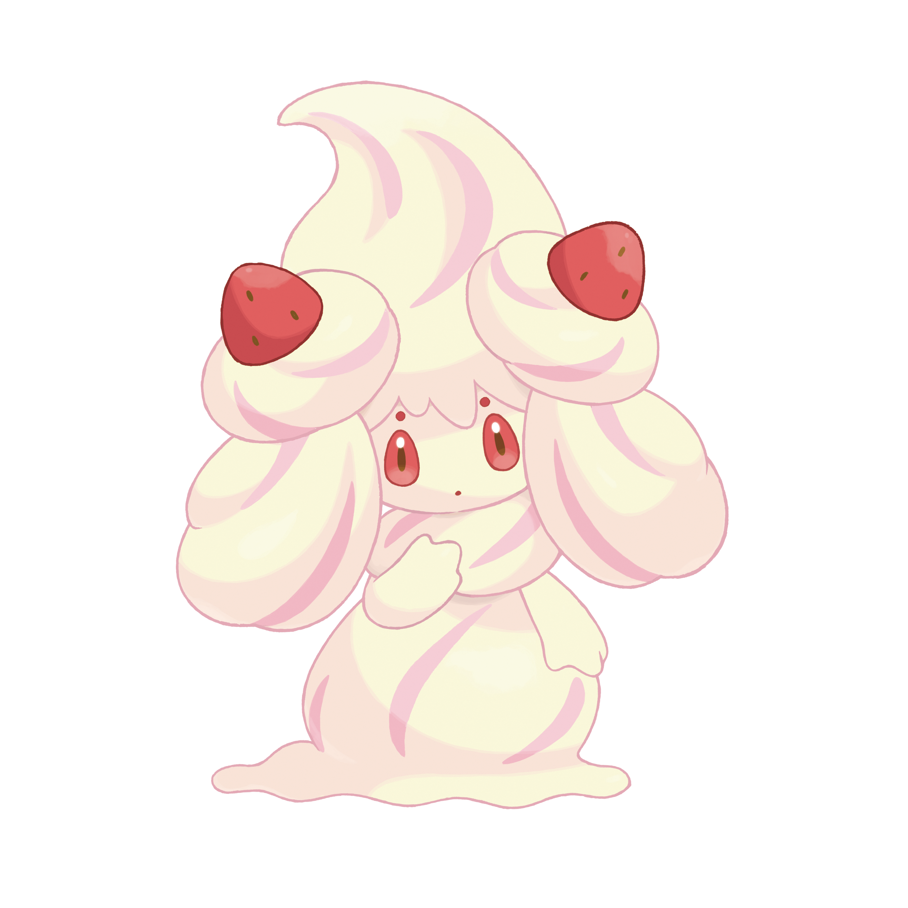 Alcremie PNG Render (Pokemon Sword and Shield)