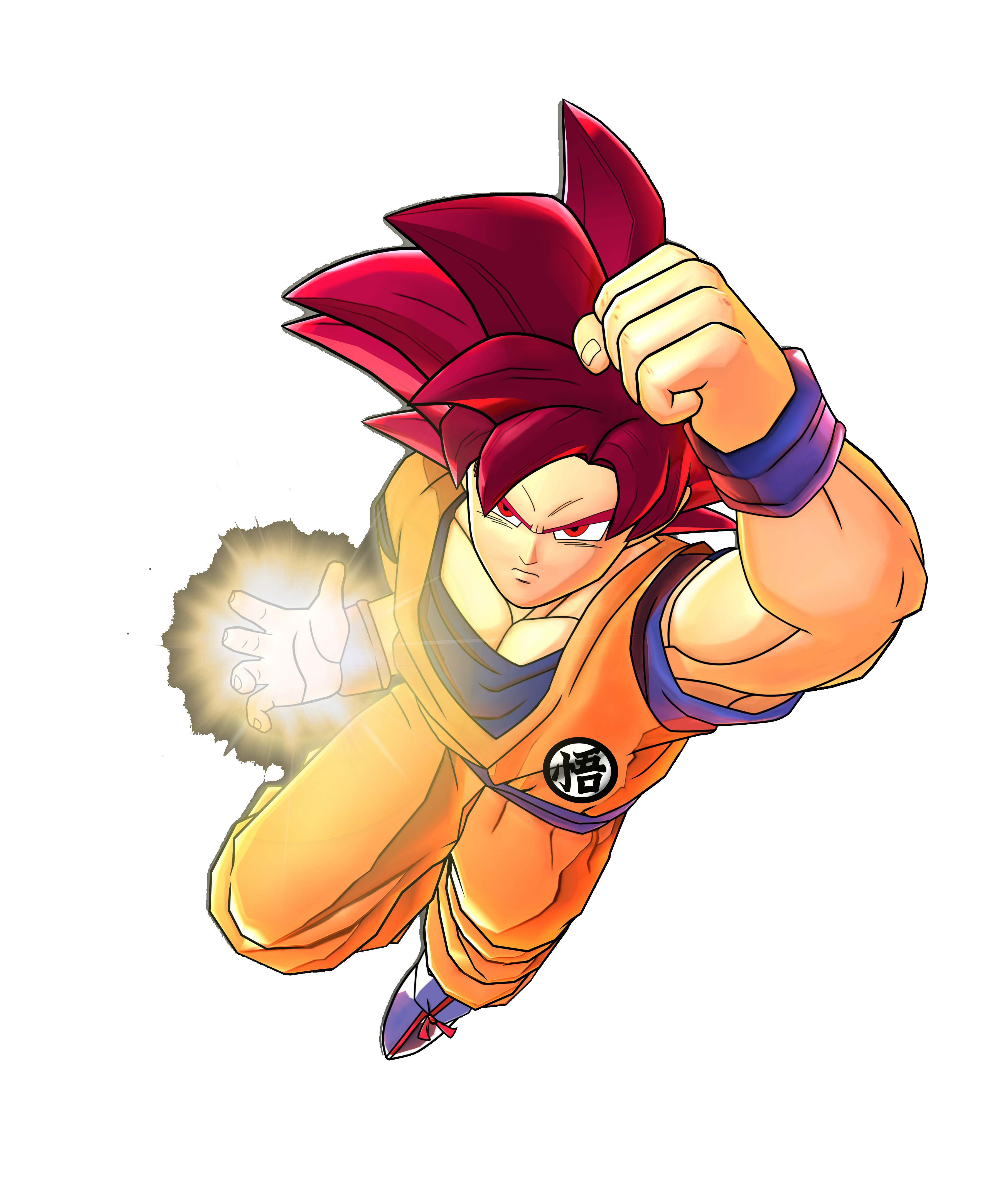 Goku Super Saiyan God Render (Dragon Ball  Z Battle of Z).png