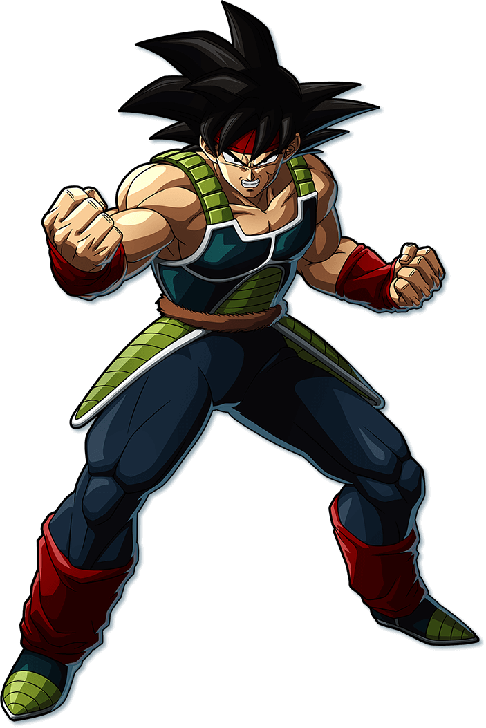 Bardock PNG Render (Dragon Ball FighterZ)