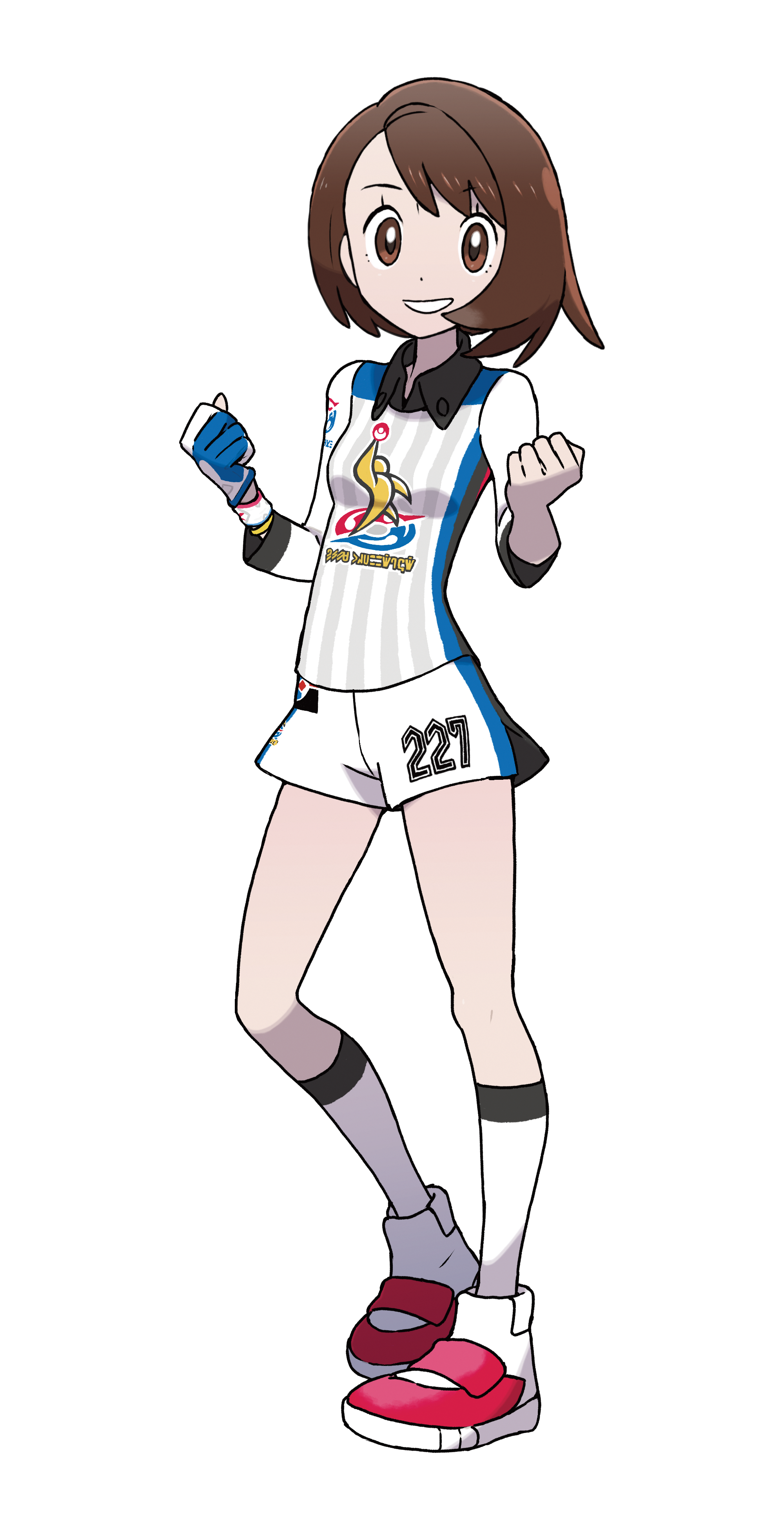Girl Gloria Galar Region Champion Cup Outfit Render (Pokemon Sword and Shield).png