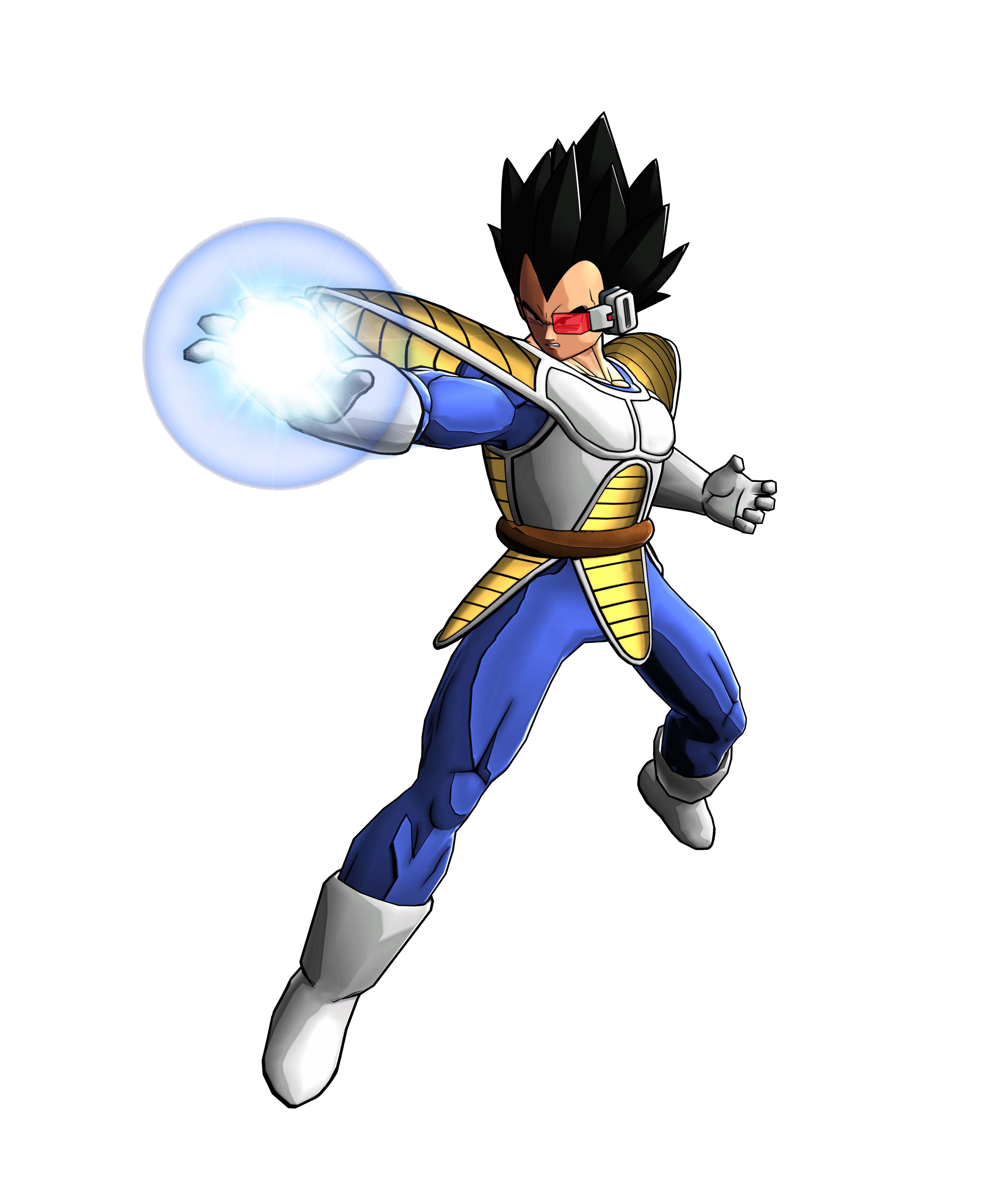Scouter Vegeta from Saiyan Saga Shoots Blast Render (Dragon Ball  Z Battle of Z).png
