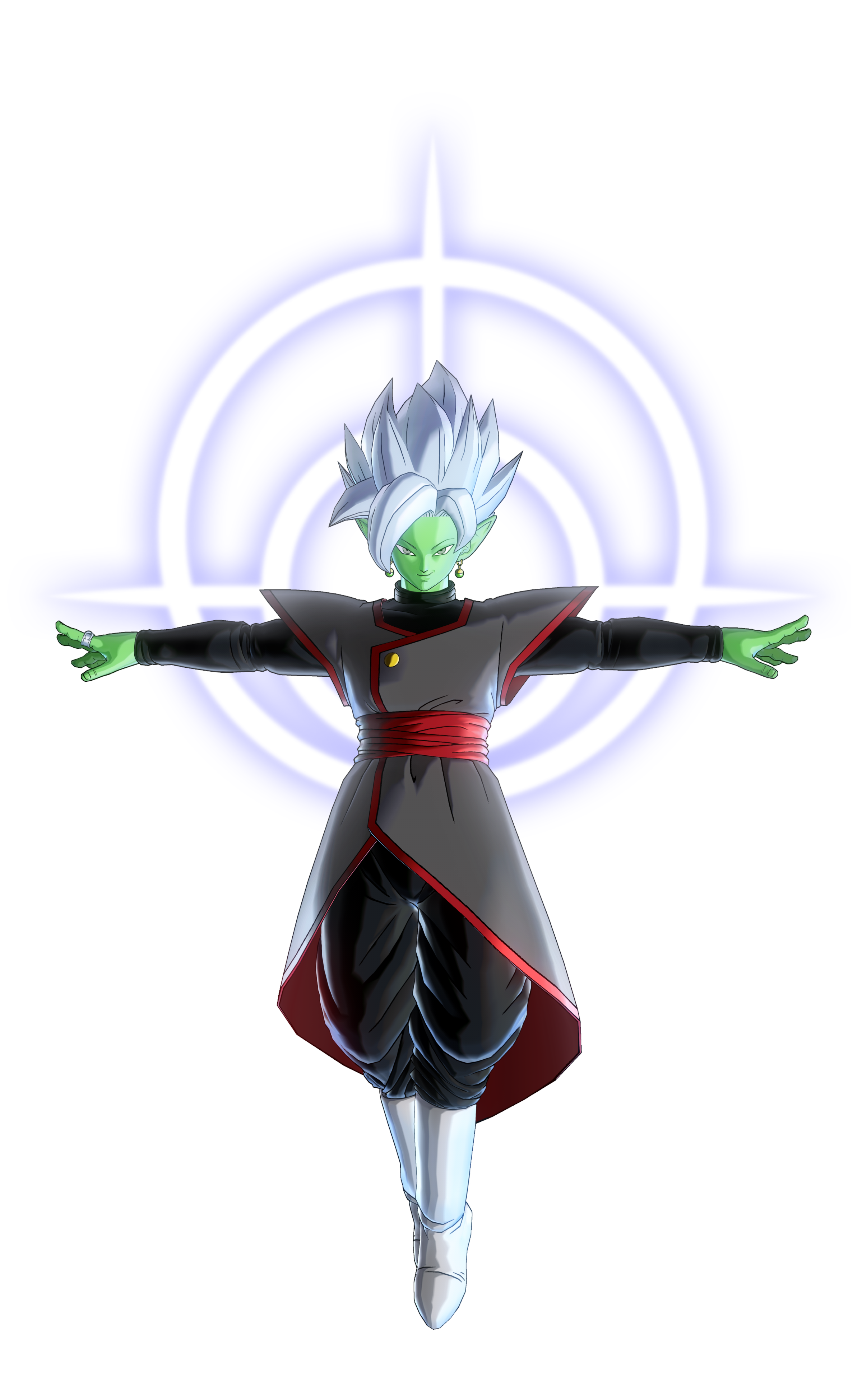 Fused Zamasu with Barrier of Light Render (Dragon Ball Xenoverse 2).png