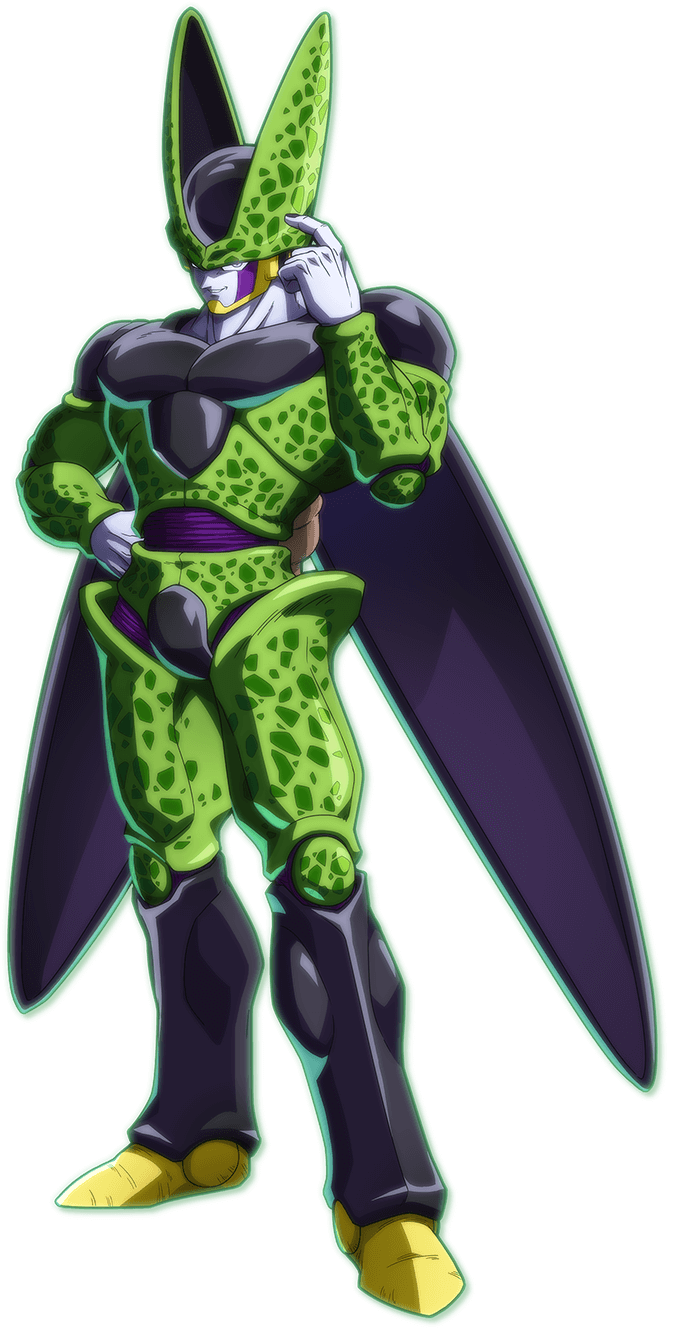 Perfect Cell PNG Render (Dragon Ball FighterZ)