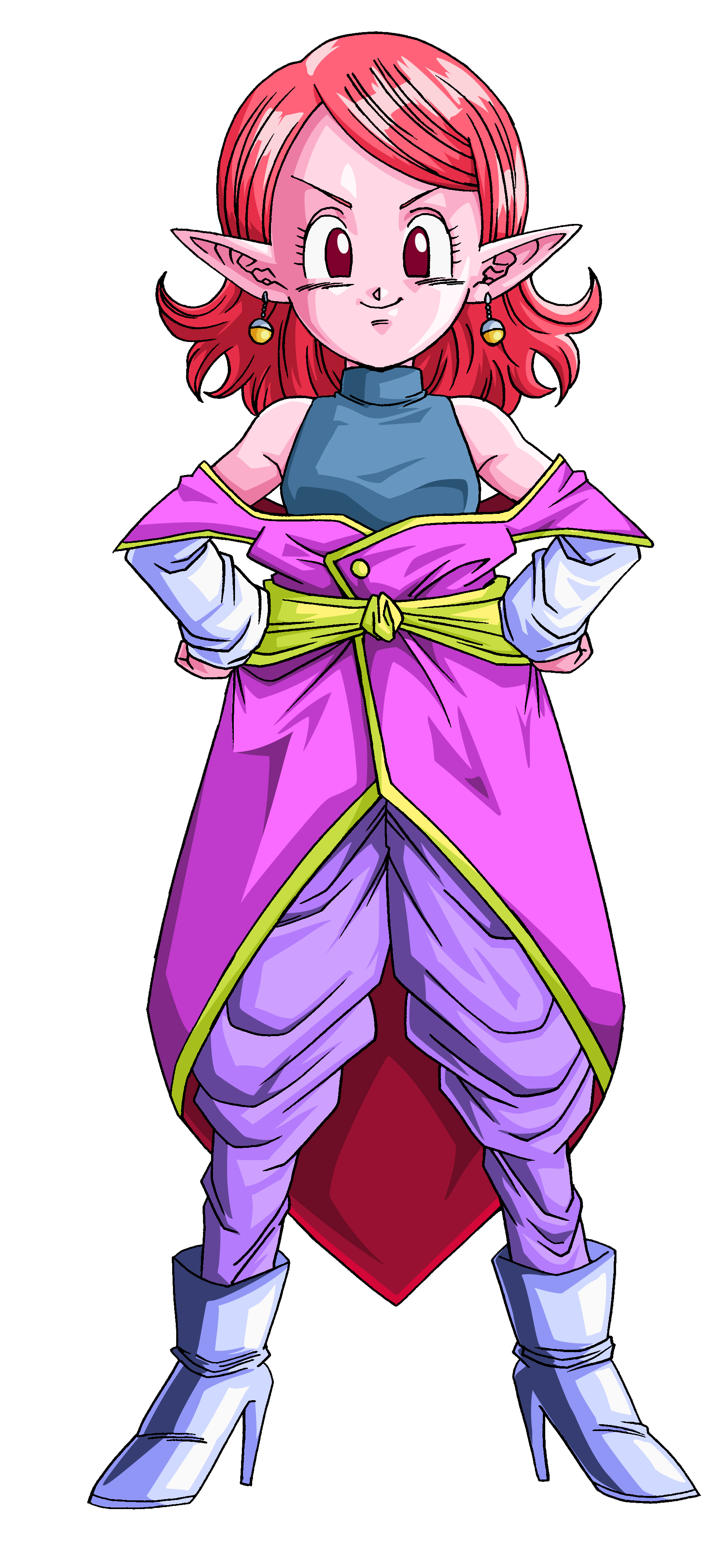 Supreme Kai of Time PNG Render (Dragon Ball Xenoverse).png