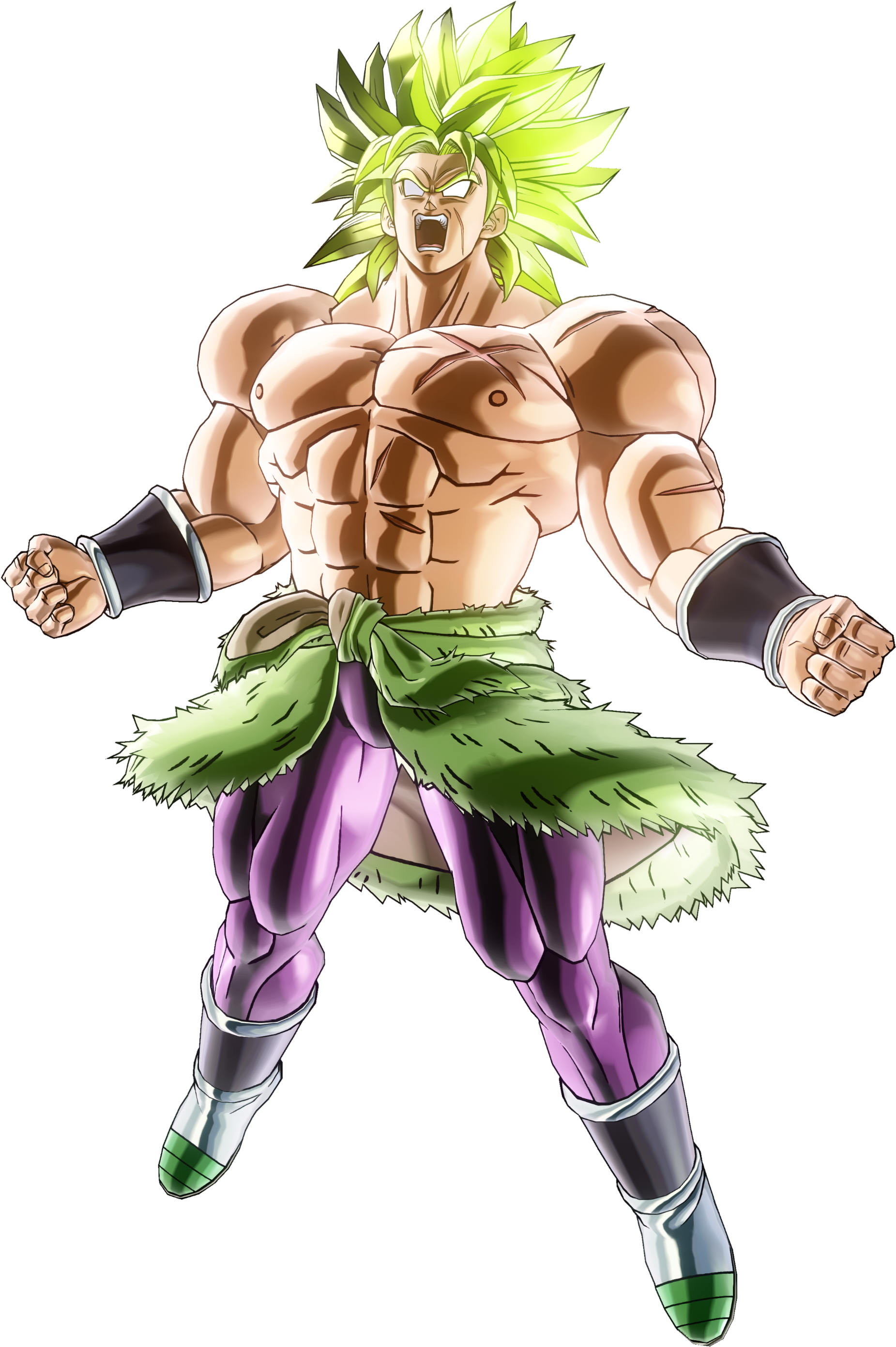 Broly Movie Render (Dragon Ball Xenoverse 2).png