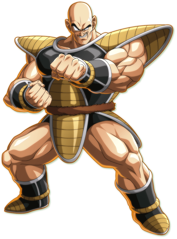 Nappa PNG Render (Dragon Ball FighterZ)