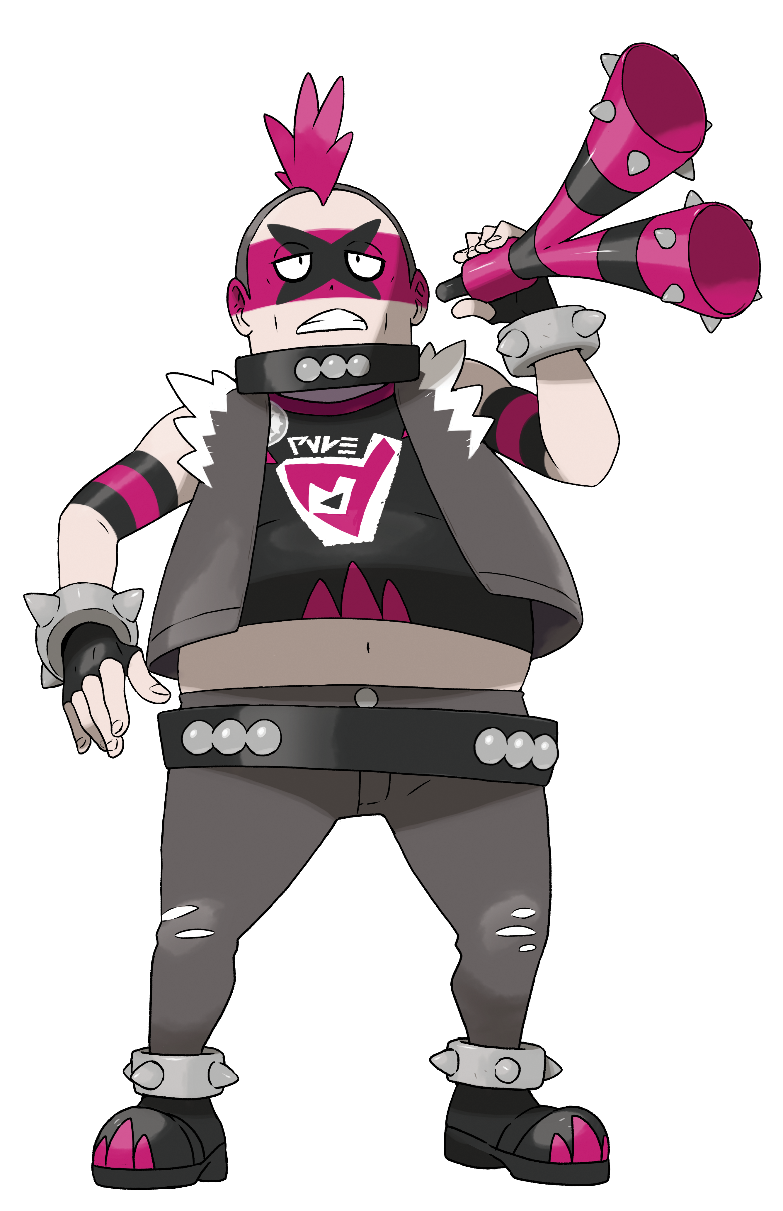 Team Yell Male Grunt Render (Pokemon Sword and Shield).png