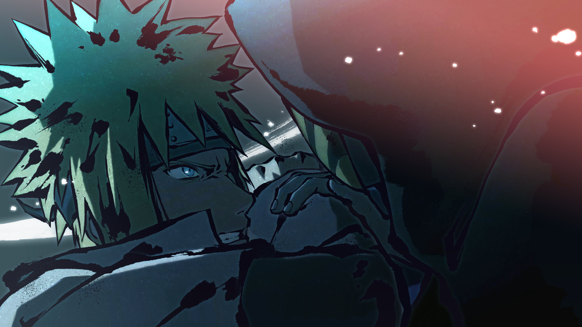 Minato, Obito - A Pitch Black World (Naruto Storm 4)