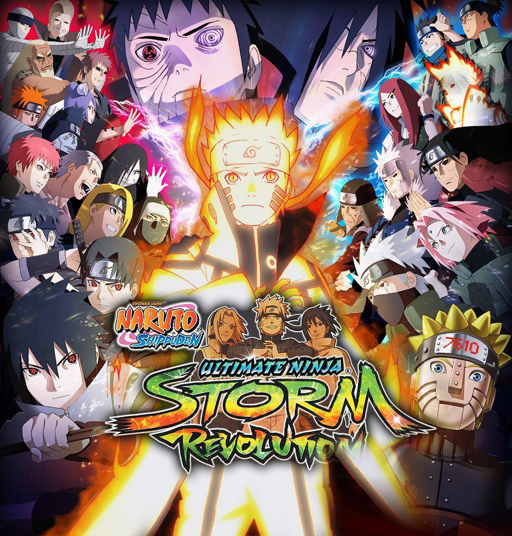 Naruto Shippuden Ultimate Ninja Storm Revolution Box Art