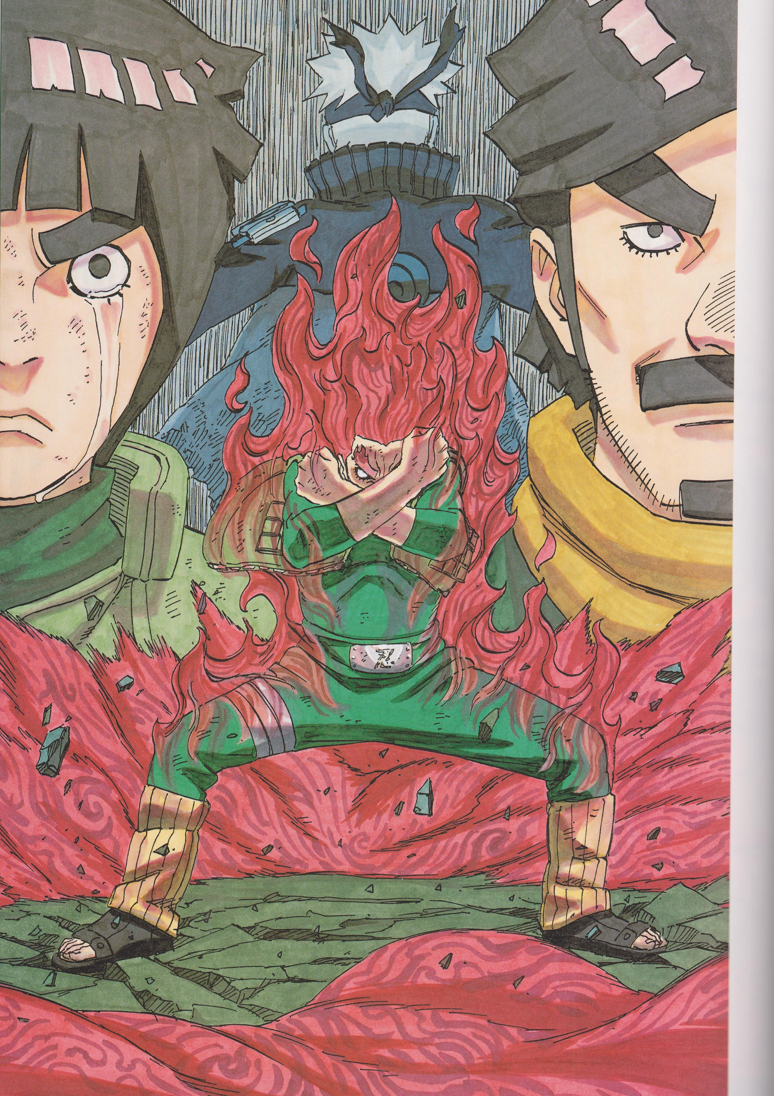 Gai , Rock Lee, Naruto Uzumaki