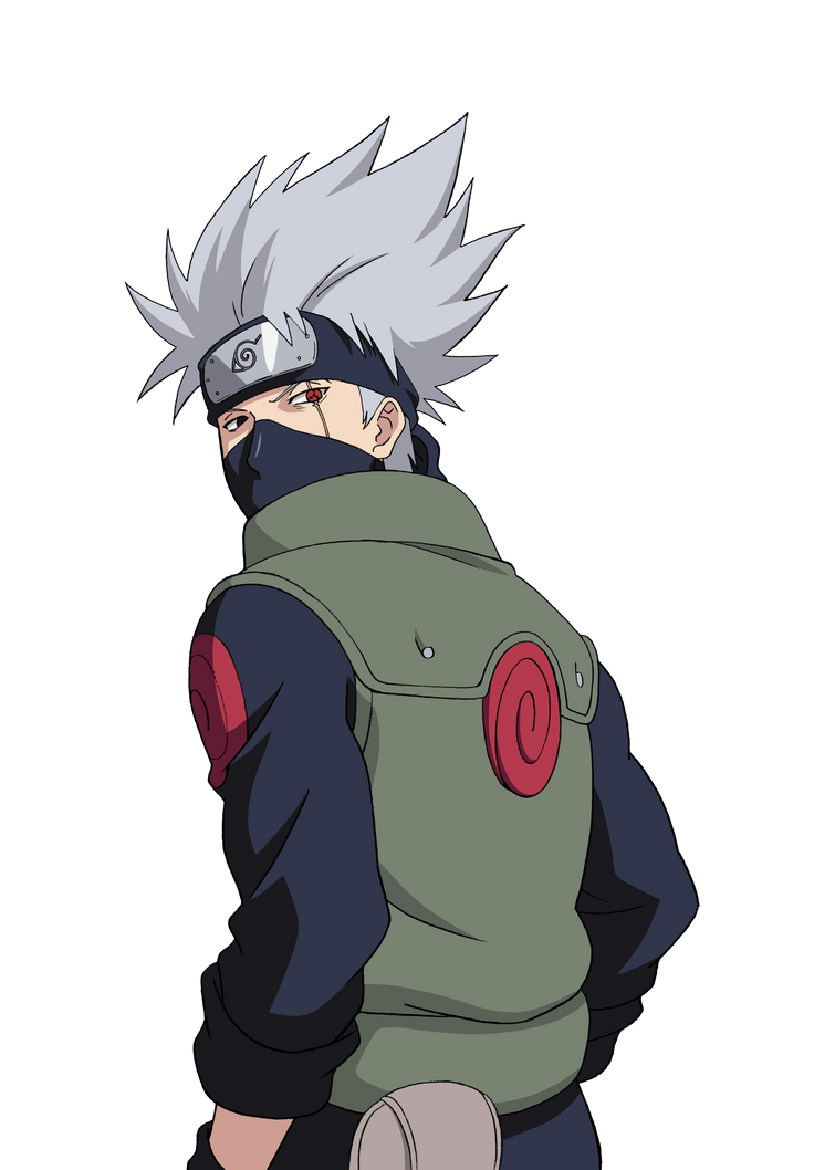Kakashi Hatake Render (Naruto Clash of Ninja Revolution)