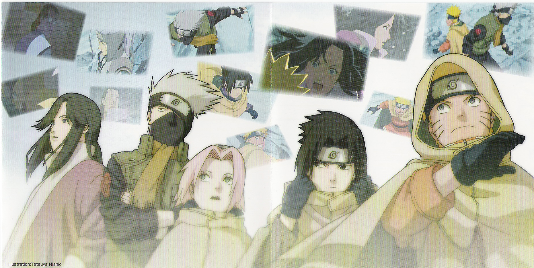 Scene Art for Naruto the Movie Ninja Clash in the Land of Snow