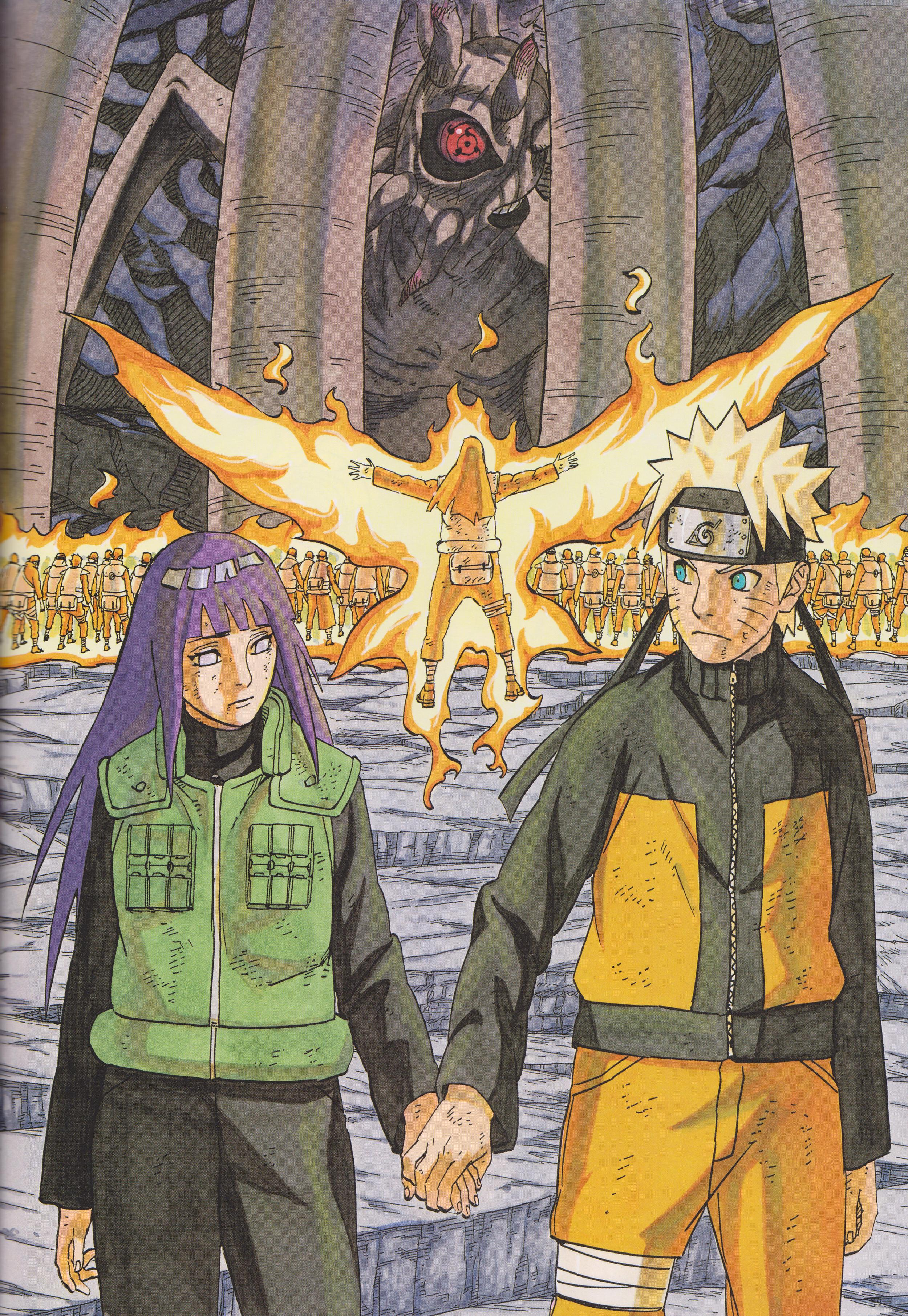 Neji, Shinobi Alliance Protects Naruto, Hinata from Ten Tails