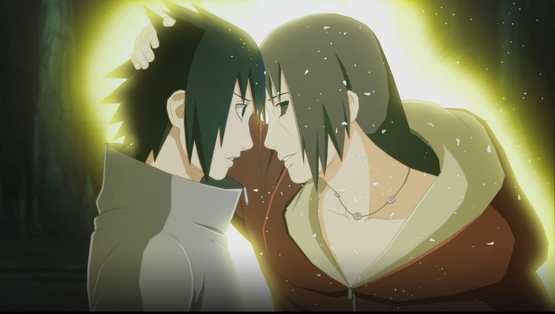 Sasuke and Edo Itachi Official Wallpaper Art (Naruto Shippuden Ultimate Ninja Storm 3)