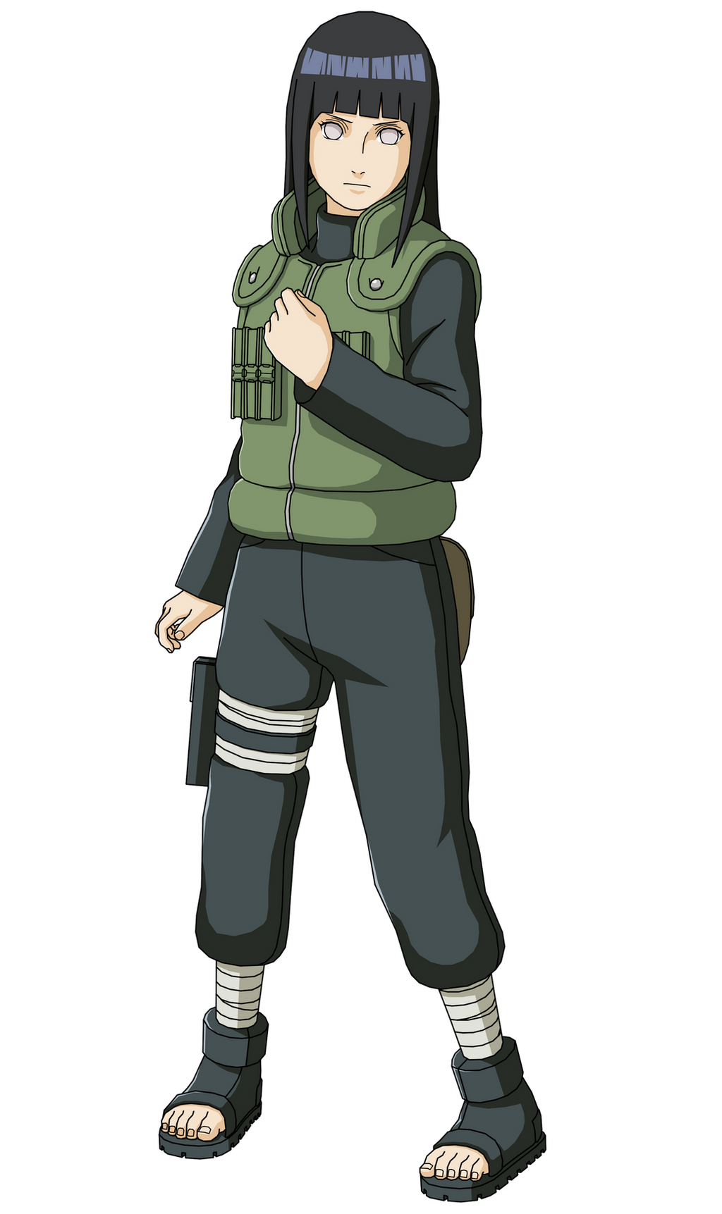 4th Great Ninja War Hinata Render (Naruto Shippuden Ultimate Ninja Storm 3)
