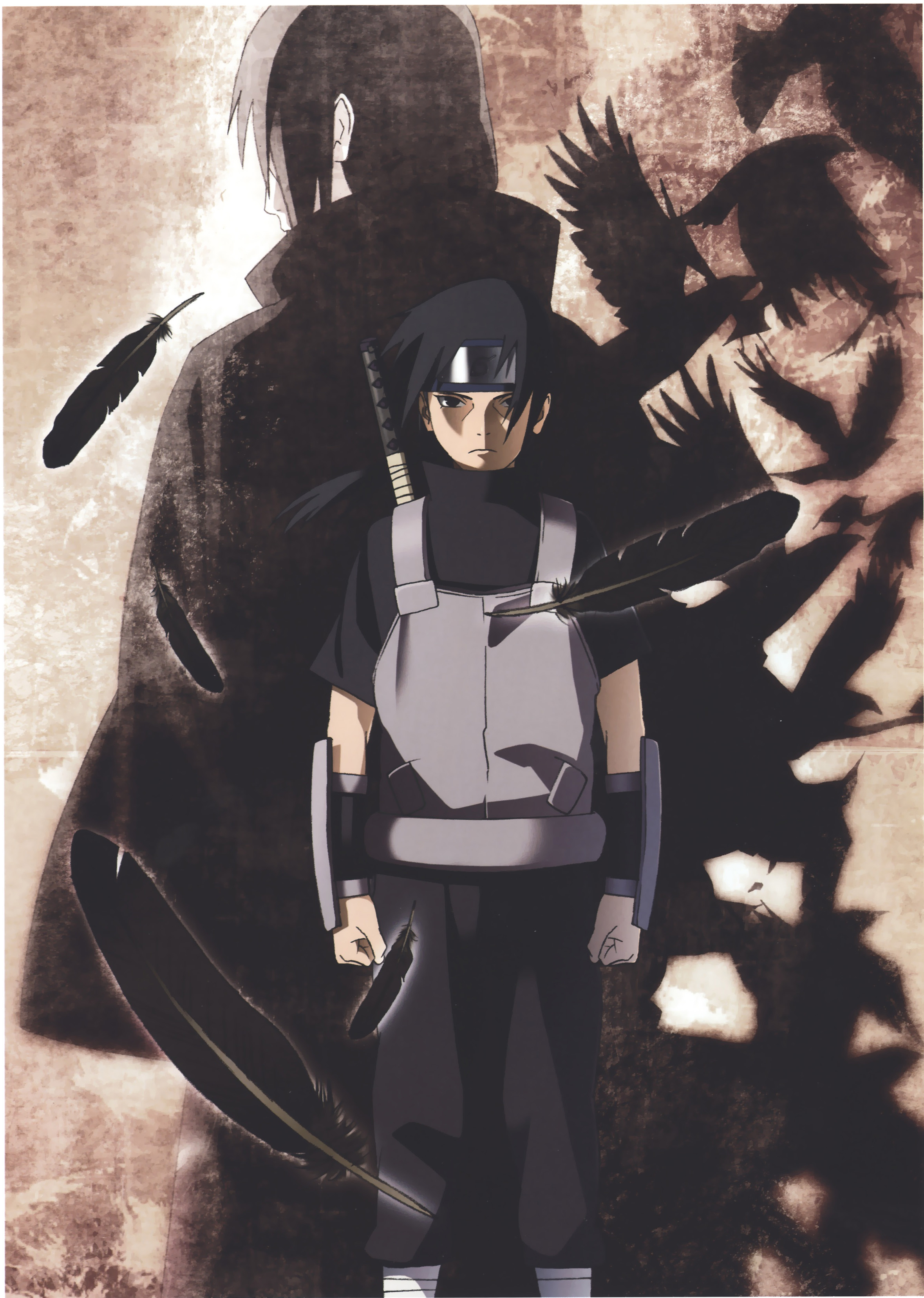 Akatsuki and ANBU Itachi
