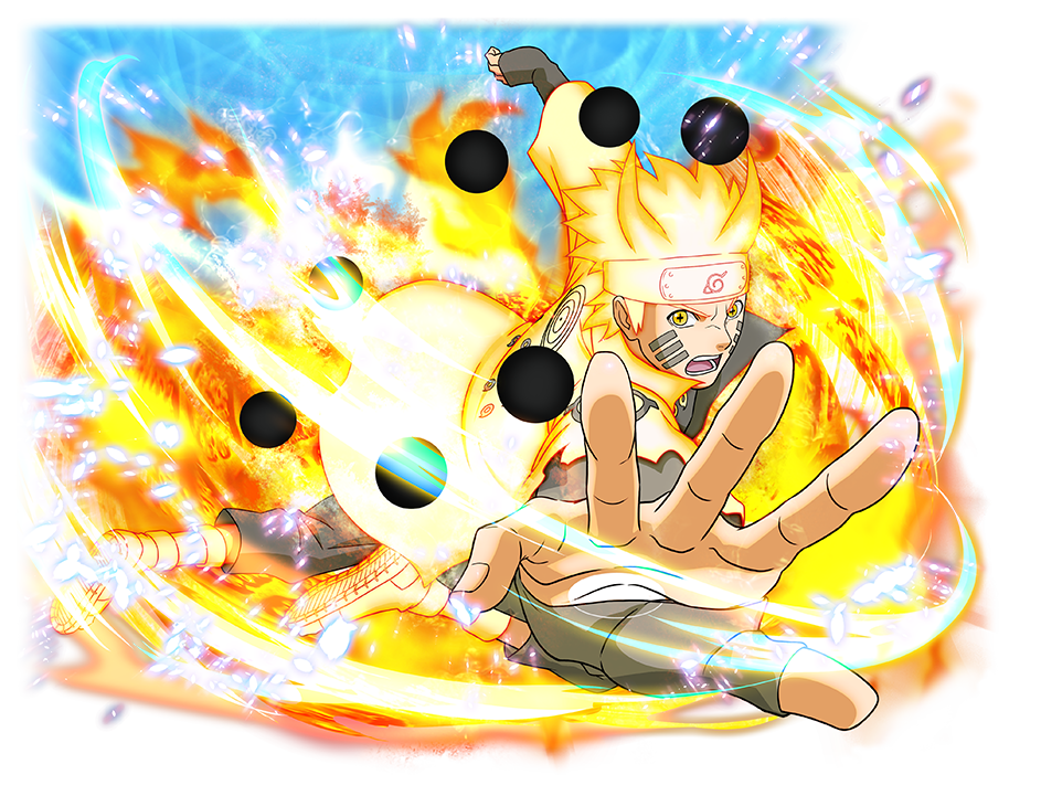 Six Paths Sage Mode Naruto (Naruto Shippuden Ultimate Ninja Blazing)