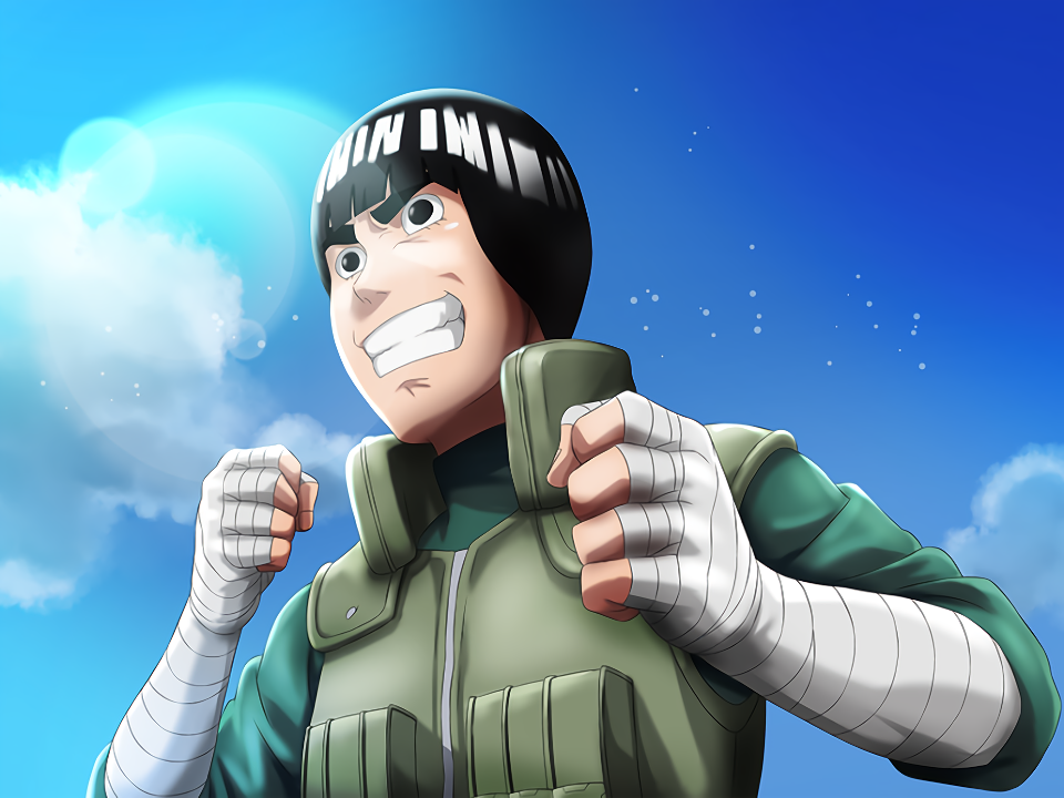Rock Lee Excited Card (Naruto x Boruto Ninja Voltage)
