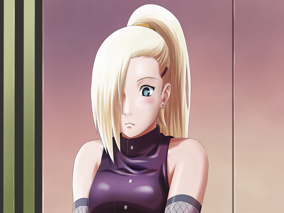 Ino Blushes Card (Naruto x Boruto Ninja Voltage)
