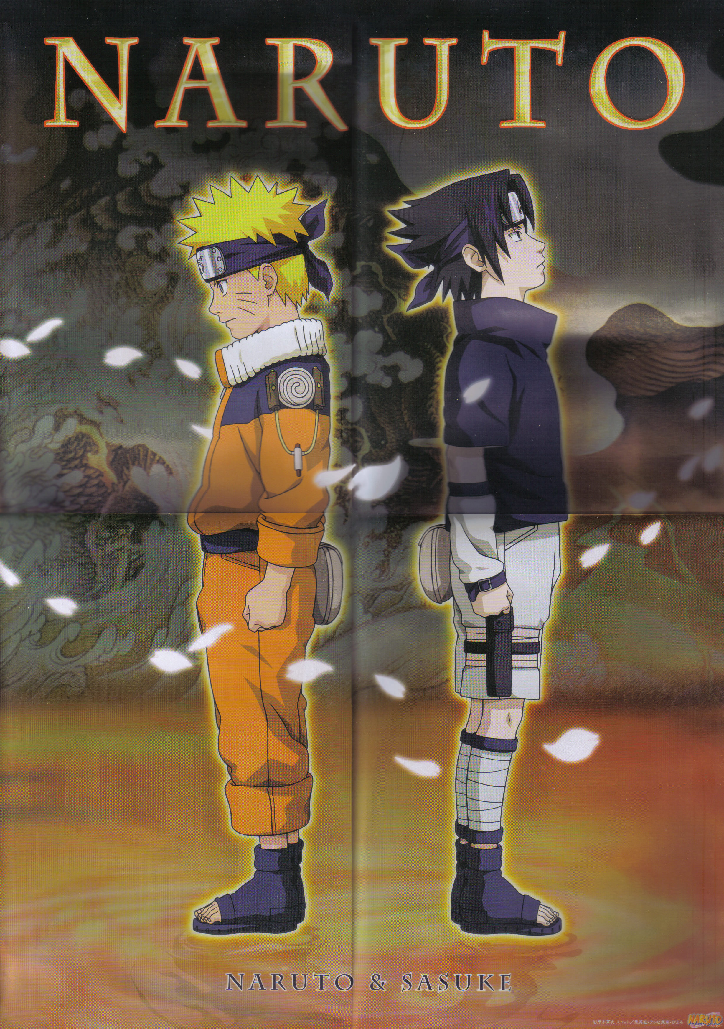 Naruto and Sasuke with Their Back to the Other.jpg