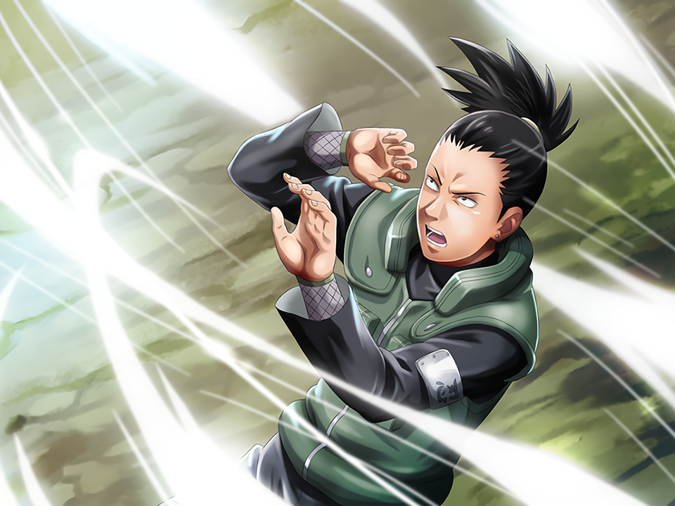 Shikamaru Tries to Dodge Card (Naruto x Boruto Ninja Voltage)