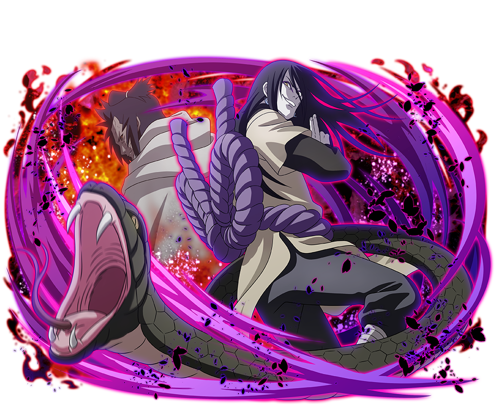 Orochimaru and Third Kazekage (Naruto Shippuden Ultimate Ninja Blazing)