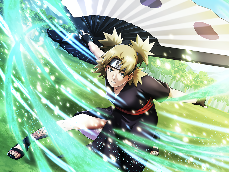 Temari Swings Fan 3 Card (Naruto x Boruto Ninja Voltage)