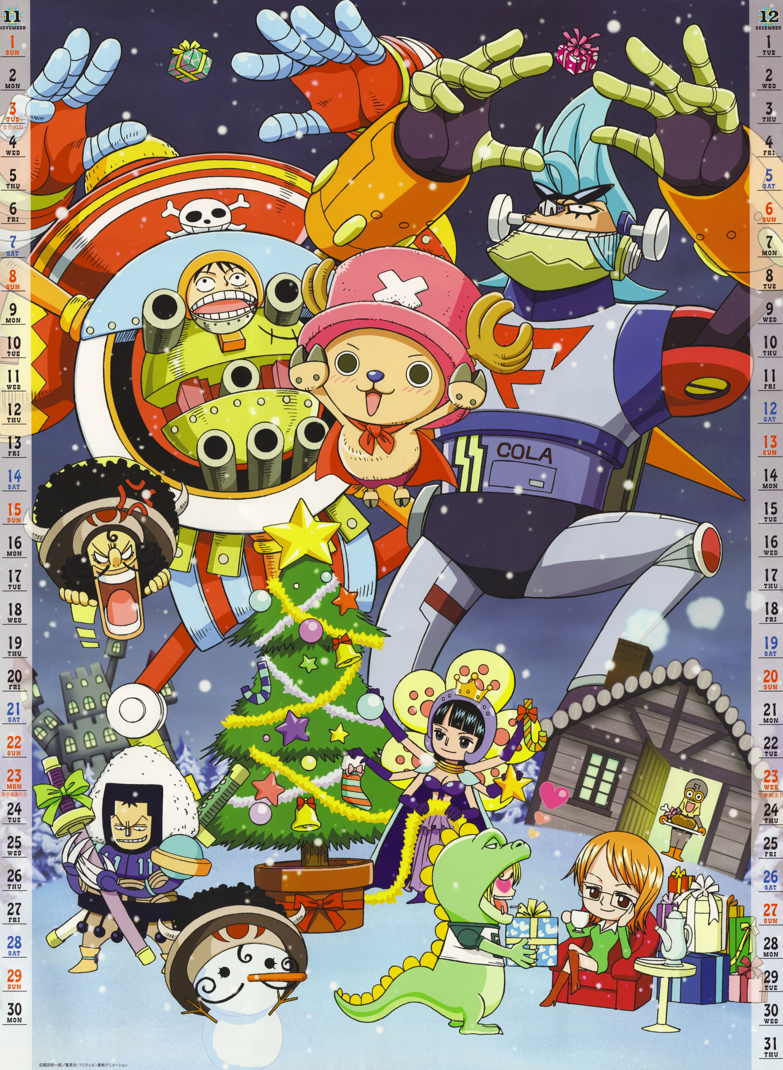 11-12 Christmas (One Piece 2009 Calendar)