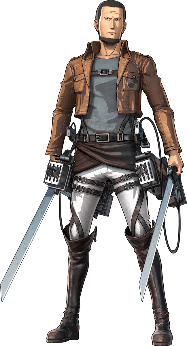 Mitabi Jarnach Render (Attack on Titan 2 Game)