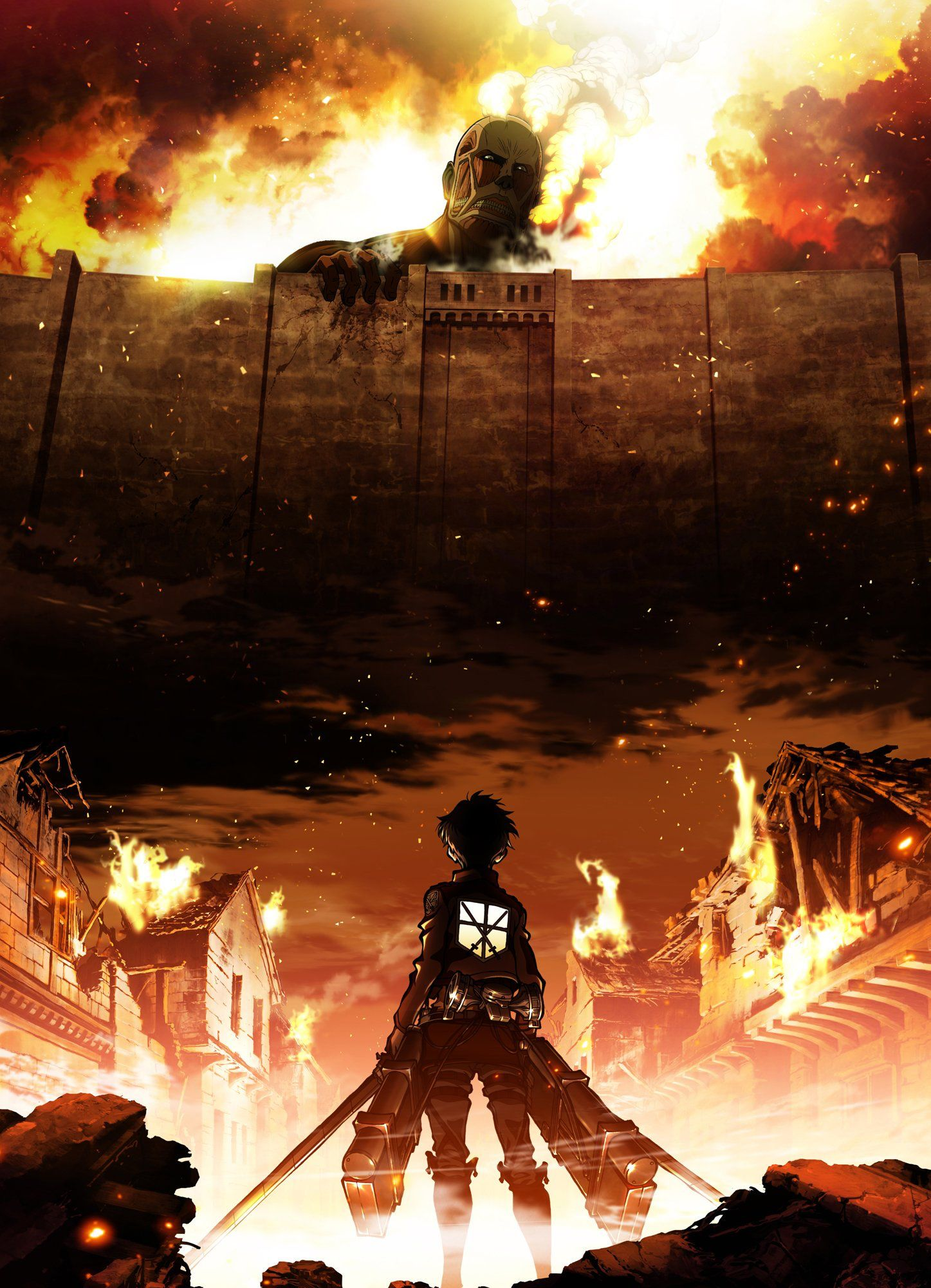Attack on Titan Season 1 Key Art