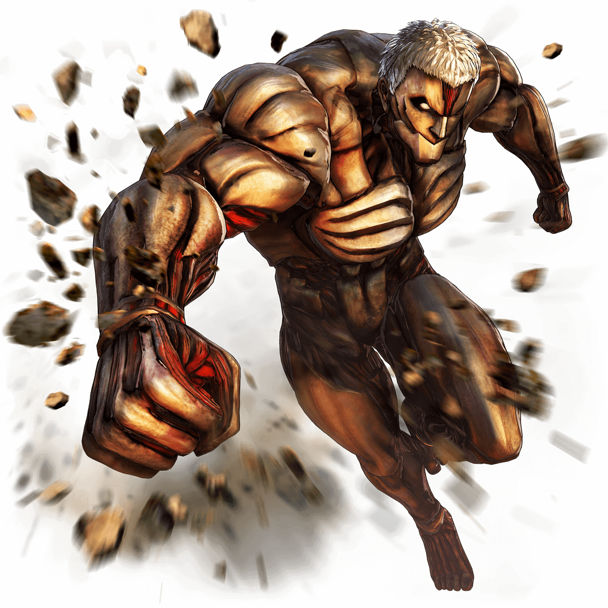 Reiner Braun - Armored Titan Render (Attack on Titan 2 Game)