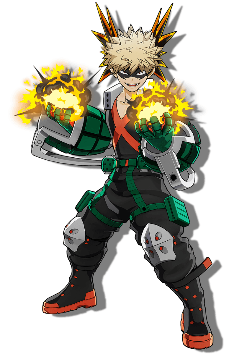 Katsuki Bakugo 3D Render (My Hero One's Justice 2)
