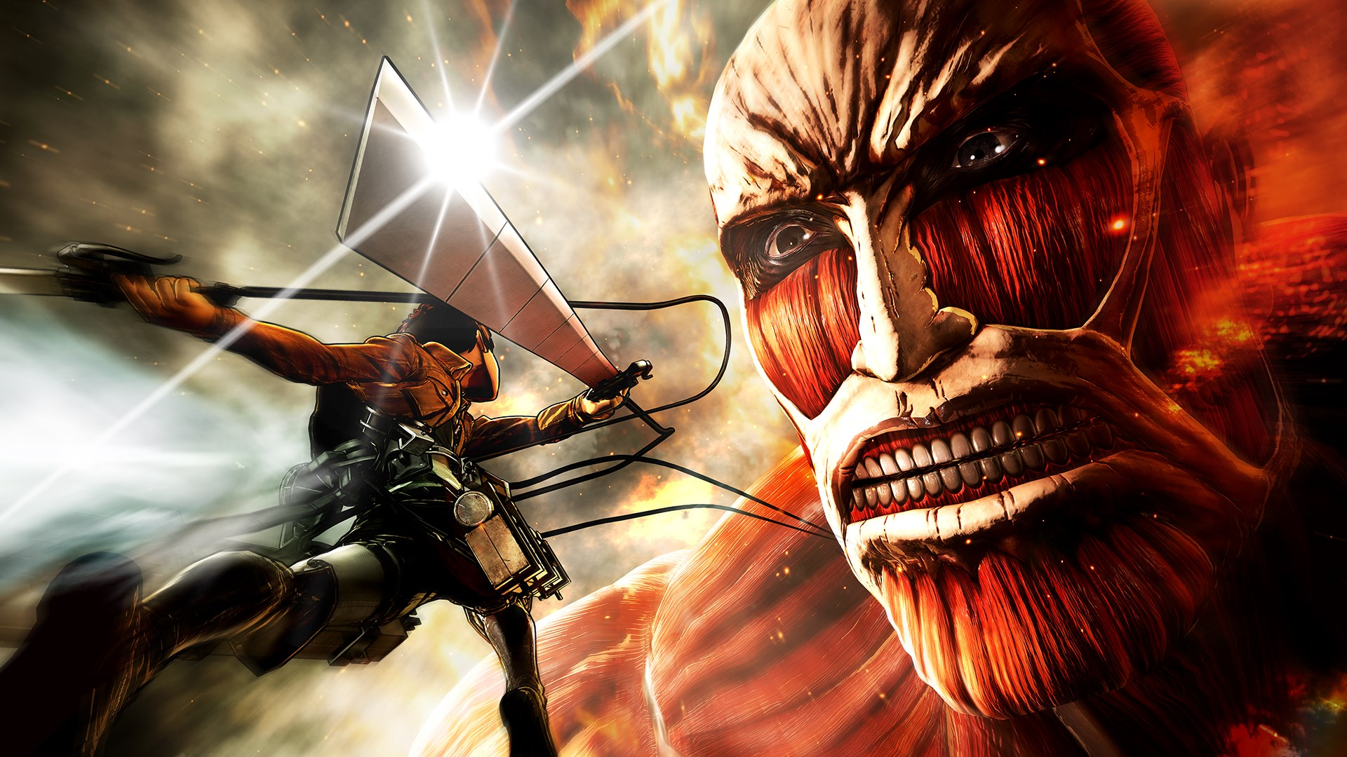 Attack on Titan Game Wallpaper