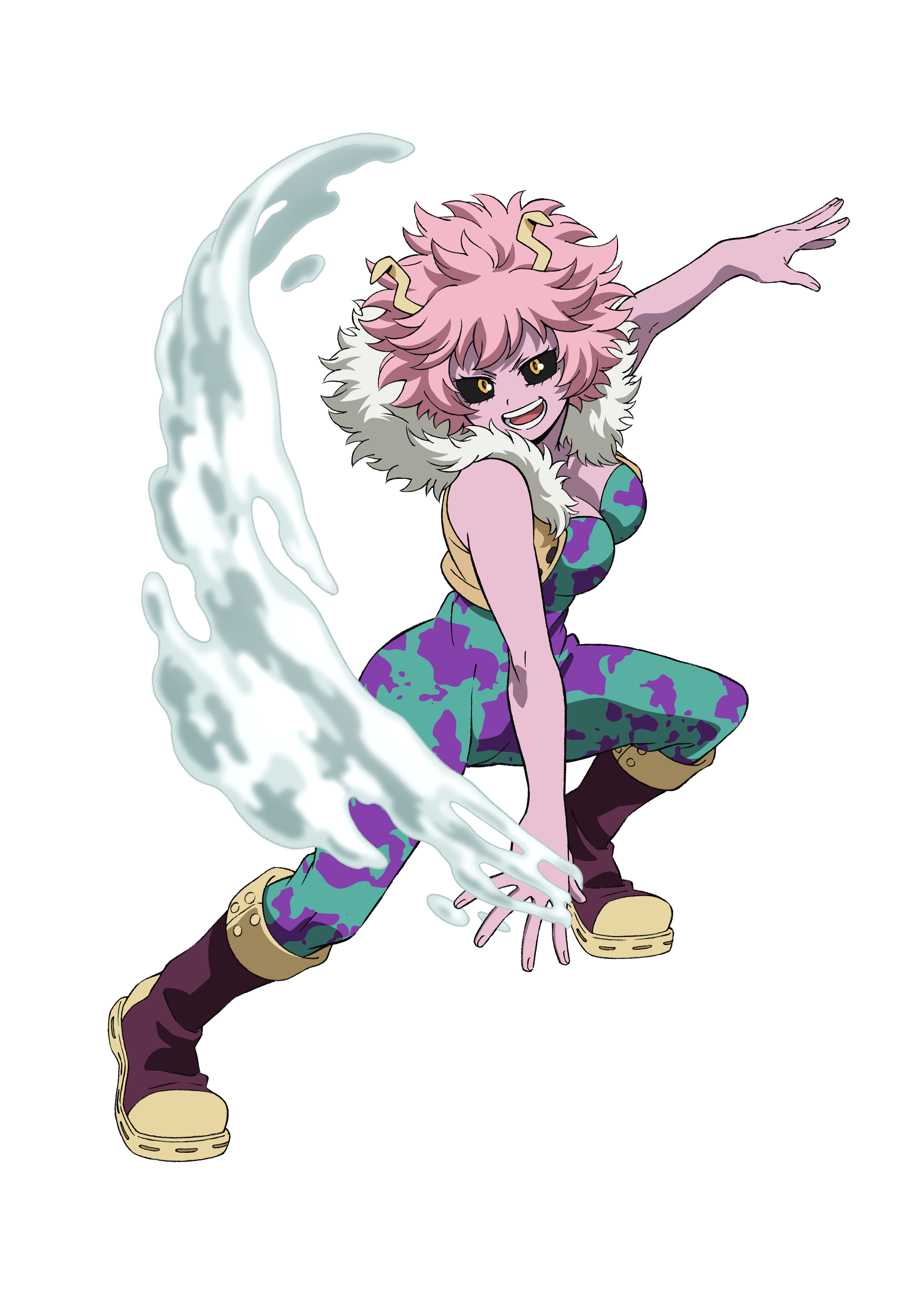 Mina Ashido Acid Render (My Hero One's Justice 2)