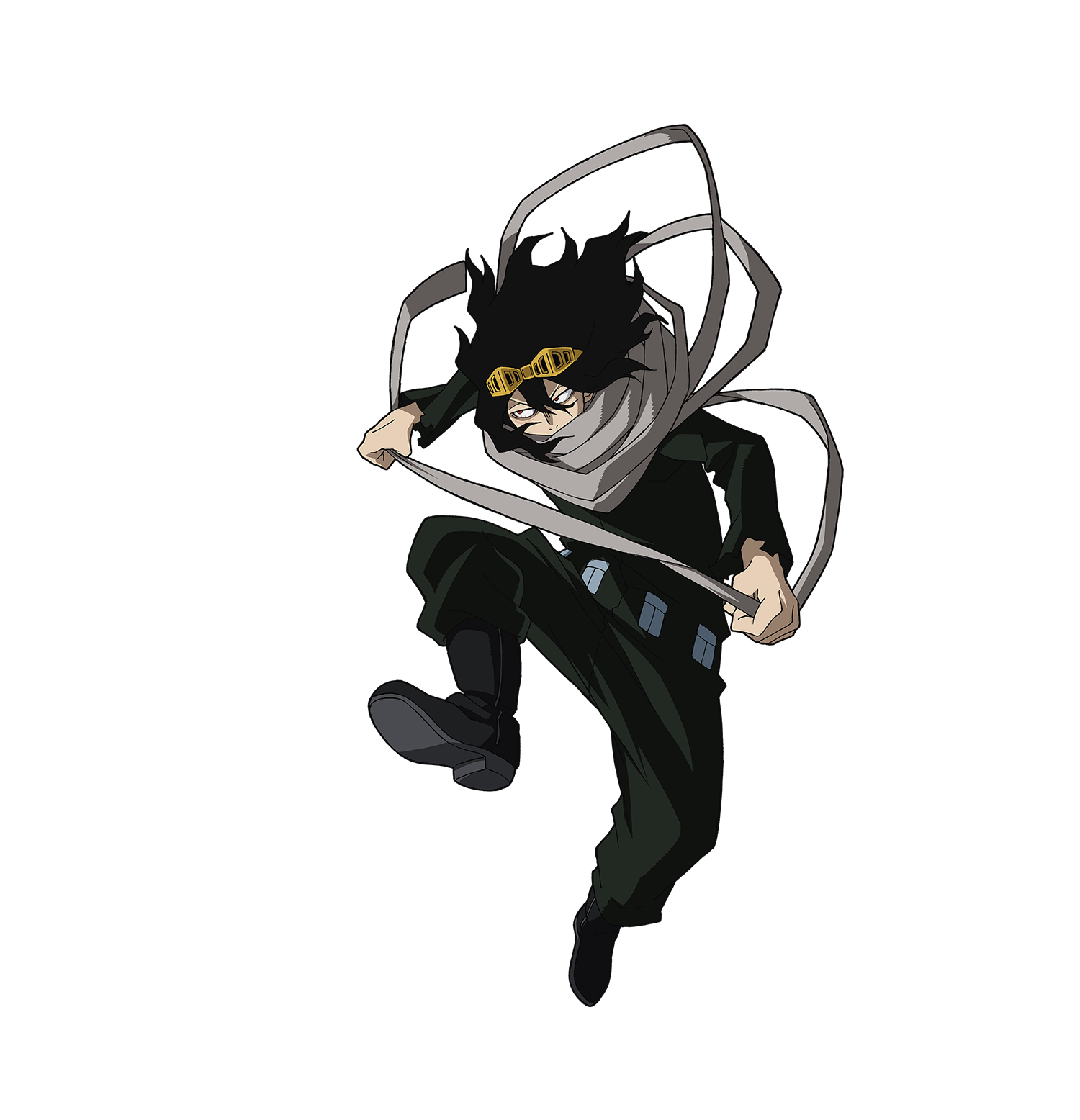 Shota Aizawa - Eraser Head Render (My Hero One's Justice 2).png