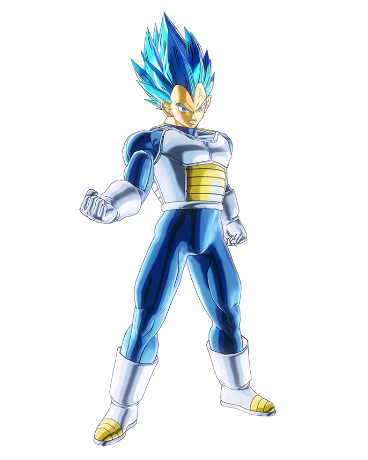 SSGSS Vegeta Evolved Render (Dragon Ball Xenoverse 2)