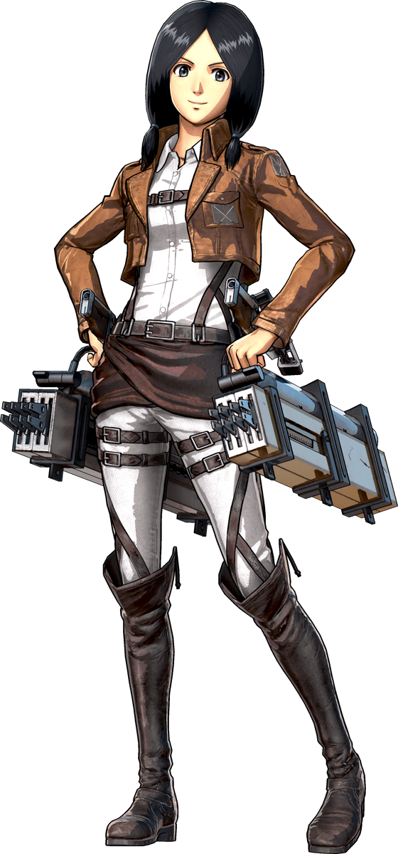 Mina Carolina Render (Attack on Titan 2 Game)