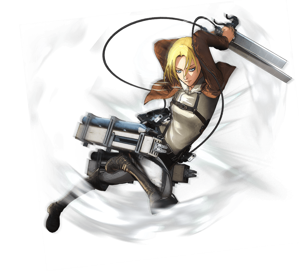 Annie Leonhart Render (Attack on Titan Game)